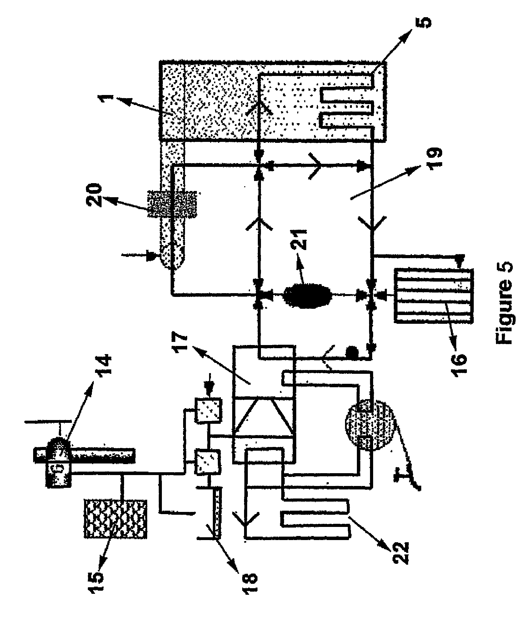 patent us20080086981 posite hybrid panel or building element Aprilaire Whole House Dehumidifier patent drawing