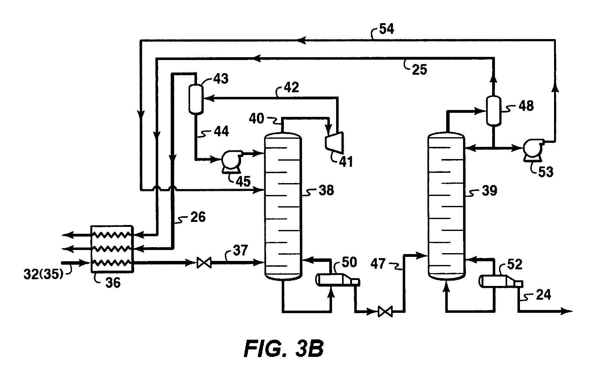 Patent Us20080096985 Light Ends Recovery Process For A Gtl Plant Flow Diagram Drawing