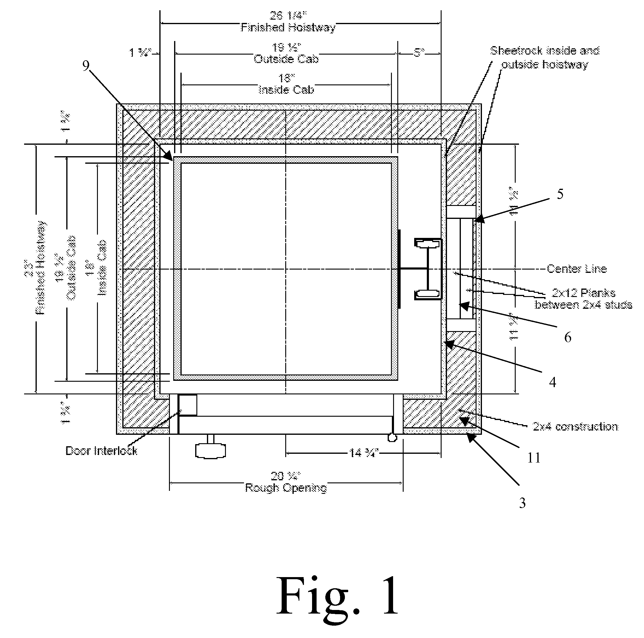 Patent Us20080116016 Dumbwaiter System With Integrated