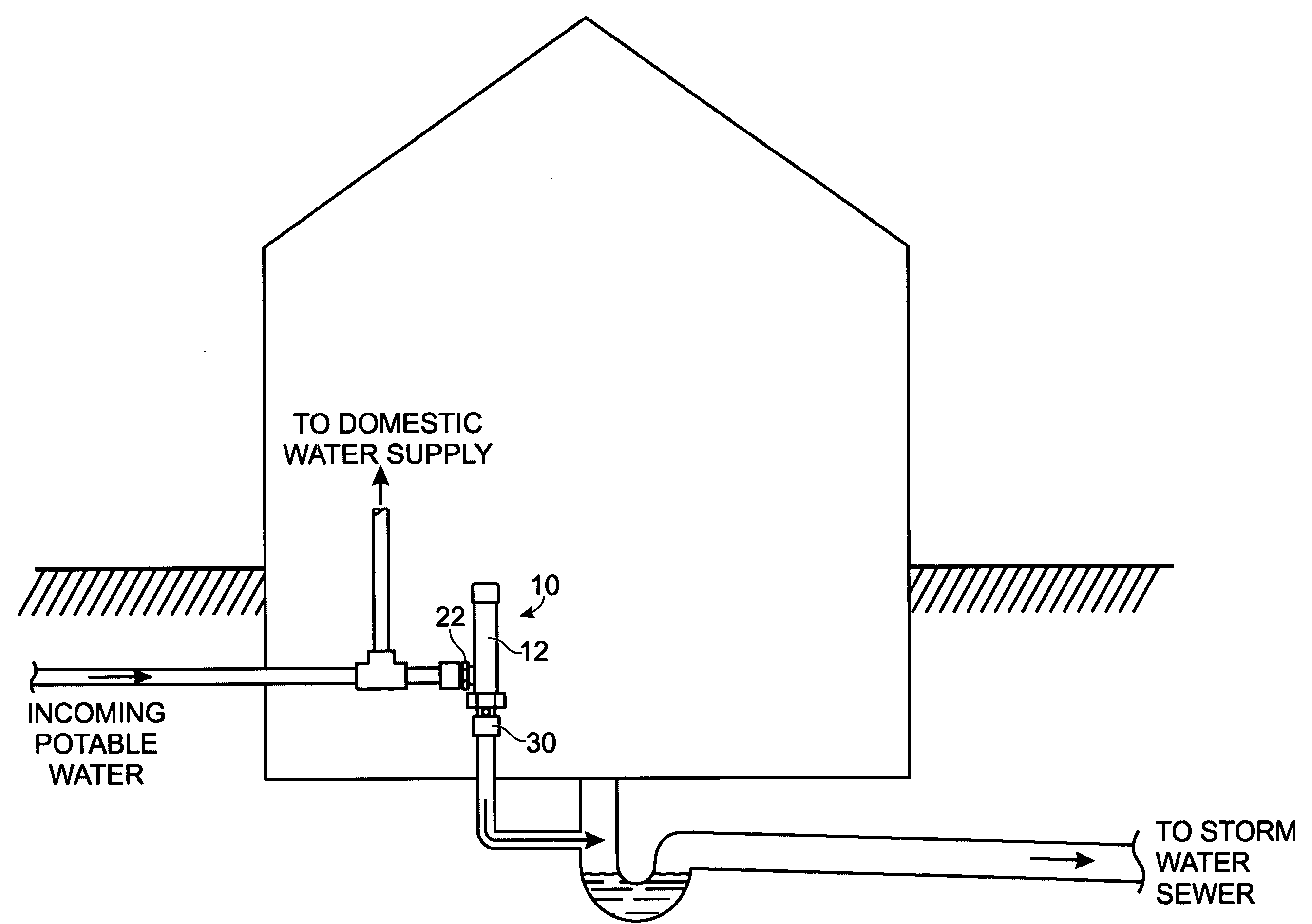 Patent Us20080128028 Pressure Activated Trap Primer And