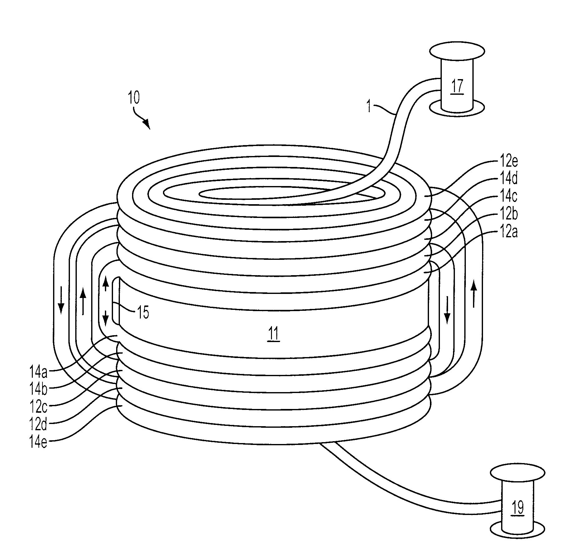 patent us20080130010 - crossover-free fiber optic coil sensor and winding method