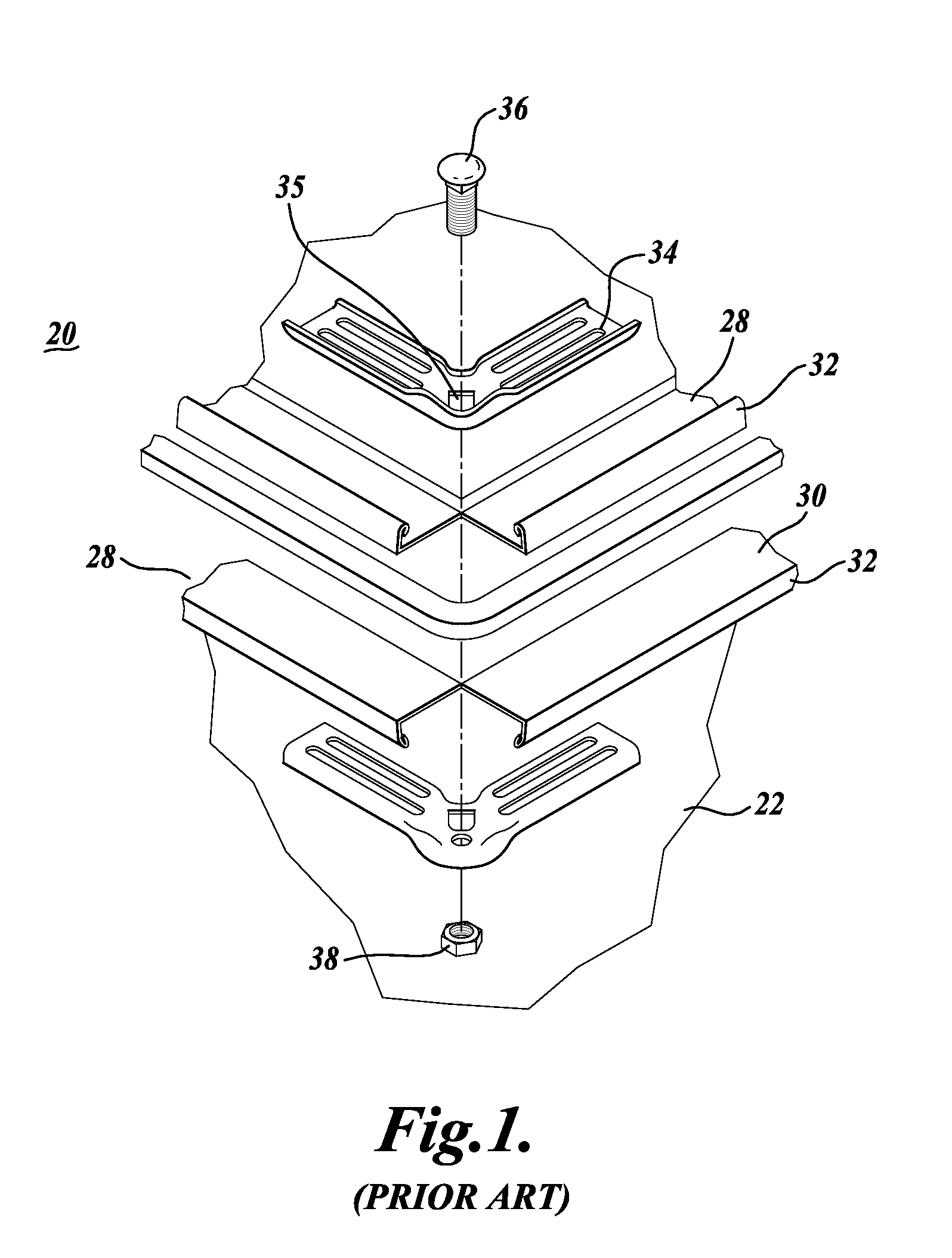 patent us20080134745 - rectangular  square spiral ducting systems with flange connectors