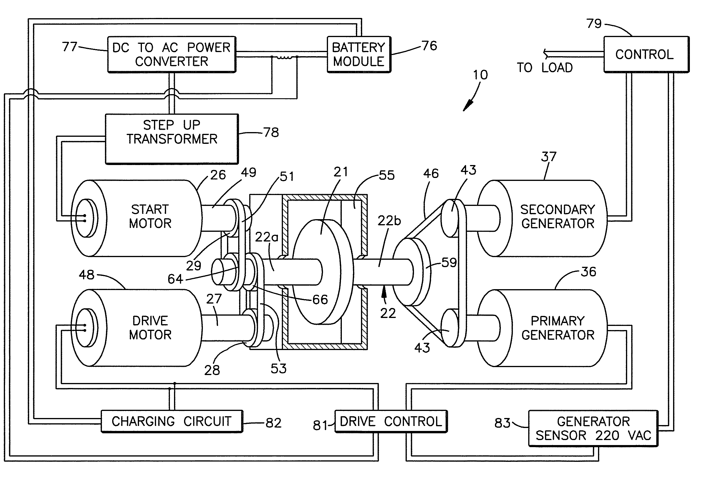 Patent Us20080143302 Electrical Power Generation System Google Generator Stepper Electronic Circuits Schematics Diagram Free Drawing