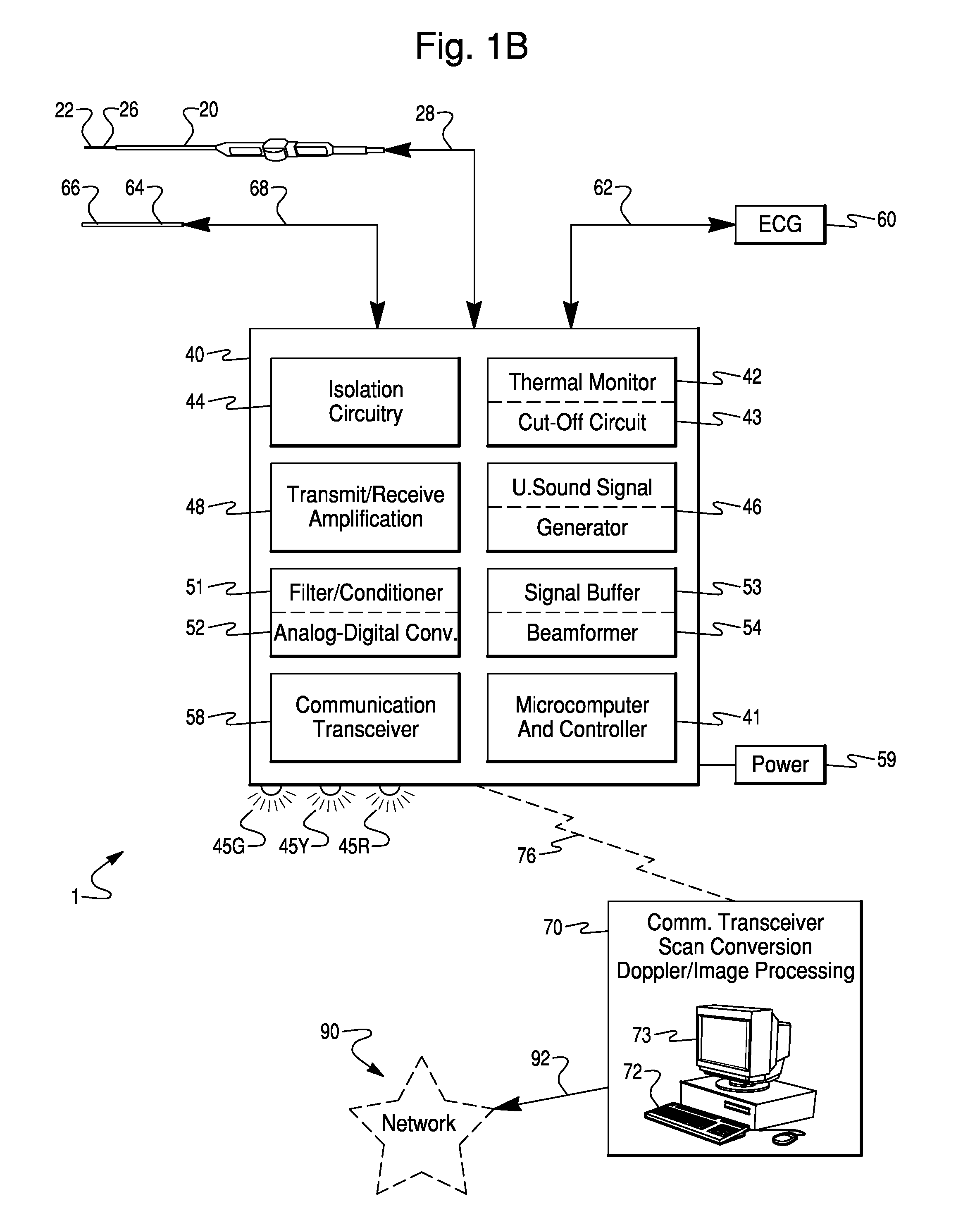 Signal Isolation Circuit : Patent us  integrated beam former and