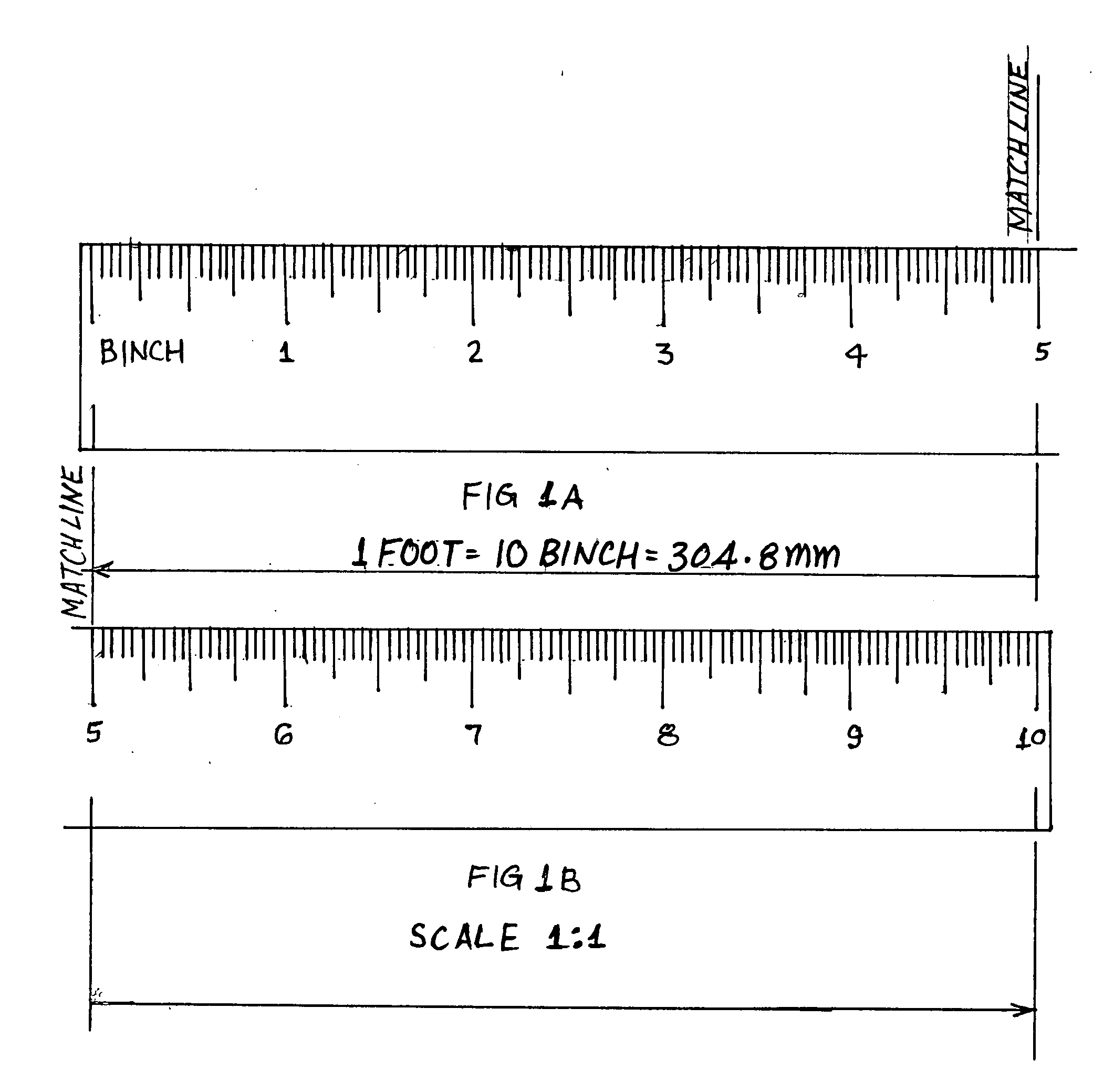 worksheet Tape Measure Fractions patent us20080148584 fraction less foot ruler measures in drawing