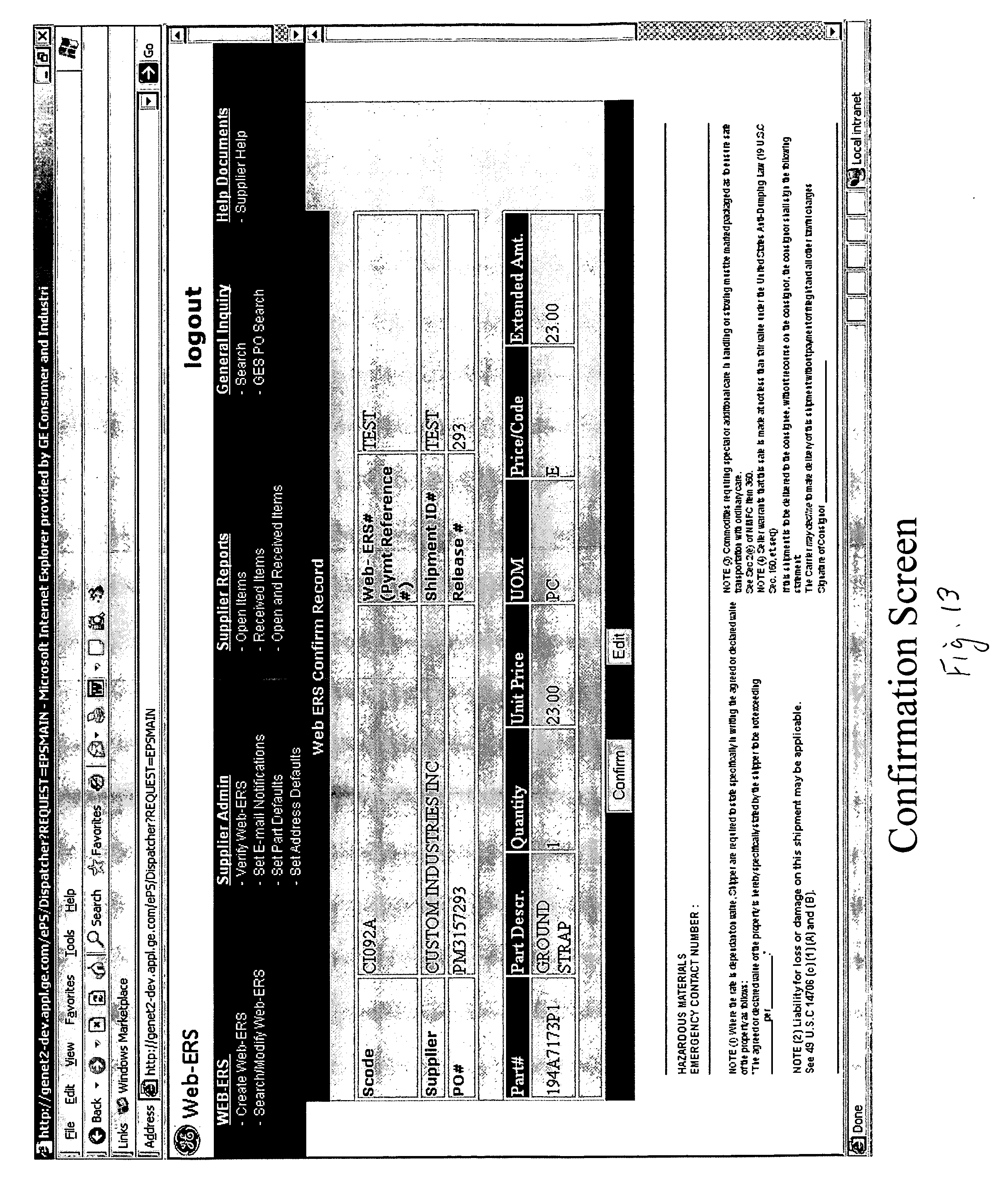 Sample Of Invoice For Payment Excel Patent Us  Process And System For Webbased Evaluated  B2b Invoicing with Simple Invoice Template Uk Patent Drawing How To Create A Receipt Pdf