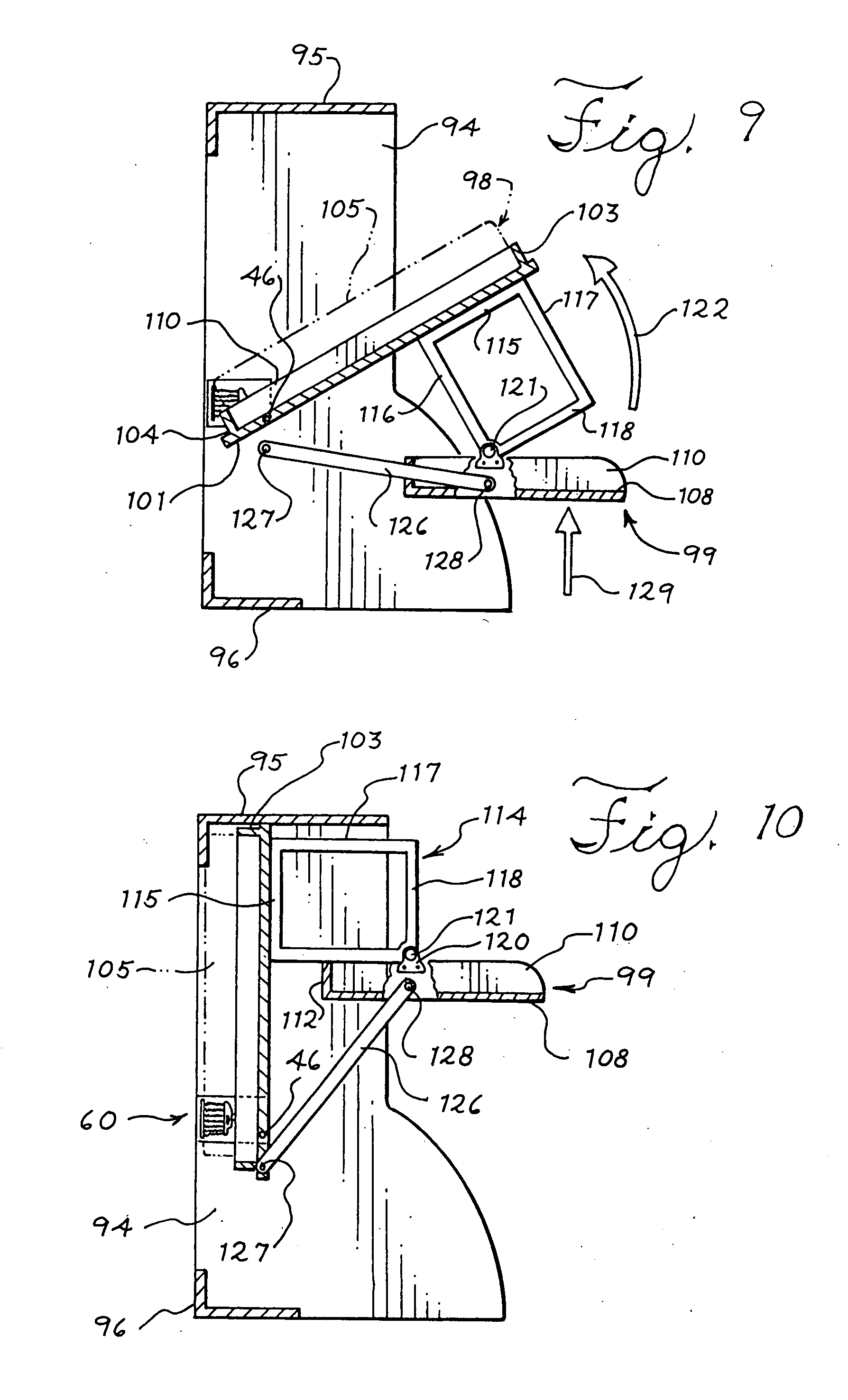 Patent Us20080163421 Tilting Furniture System And