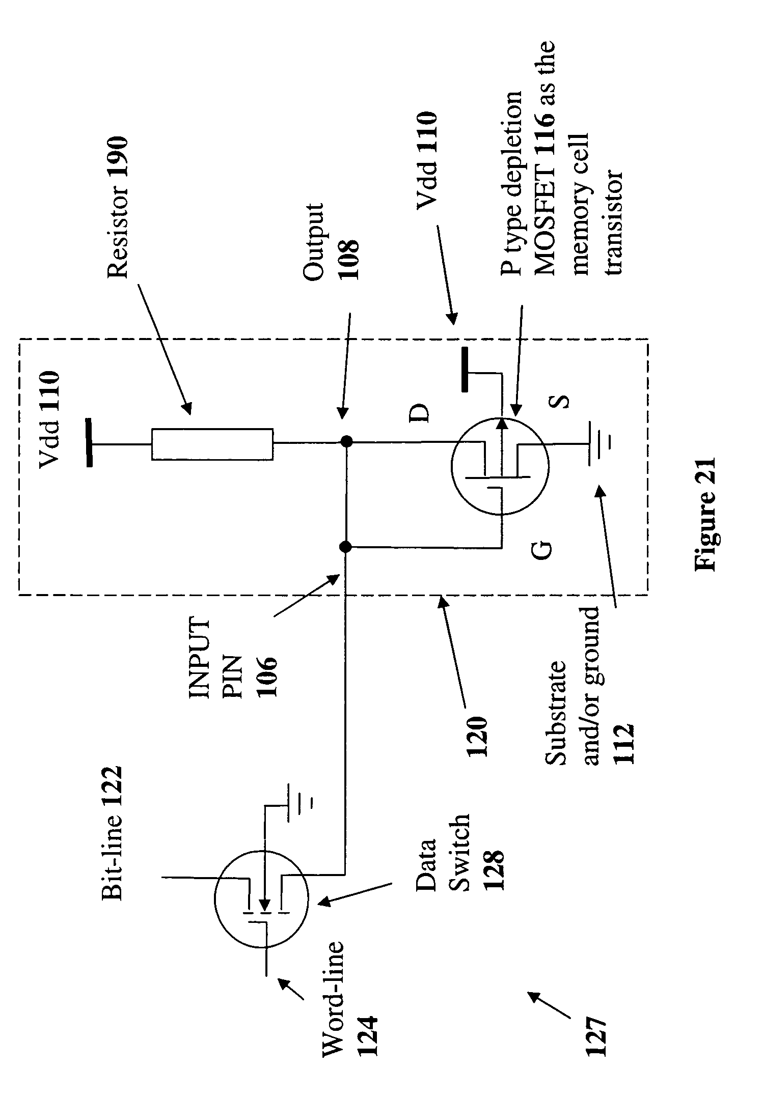 Patent Us20080175045 Depletion Mode Mosfet Circuit And Demosfet Enhancement Drawing