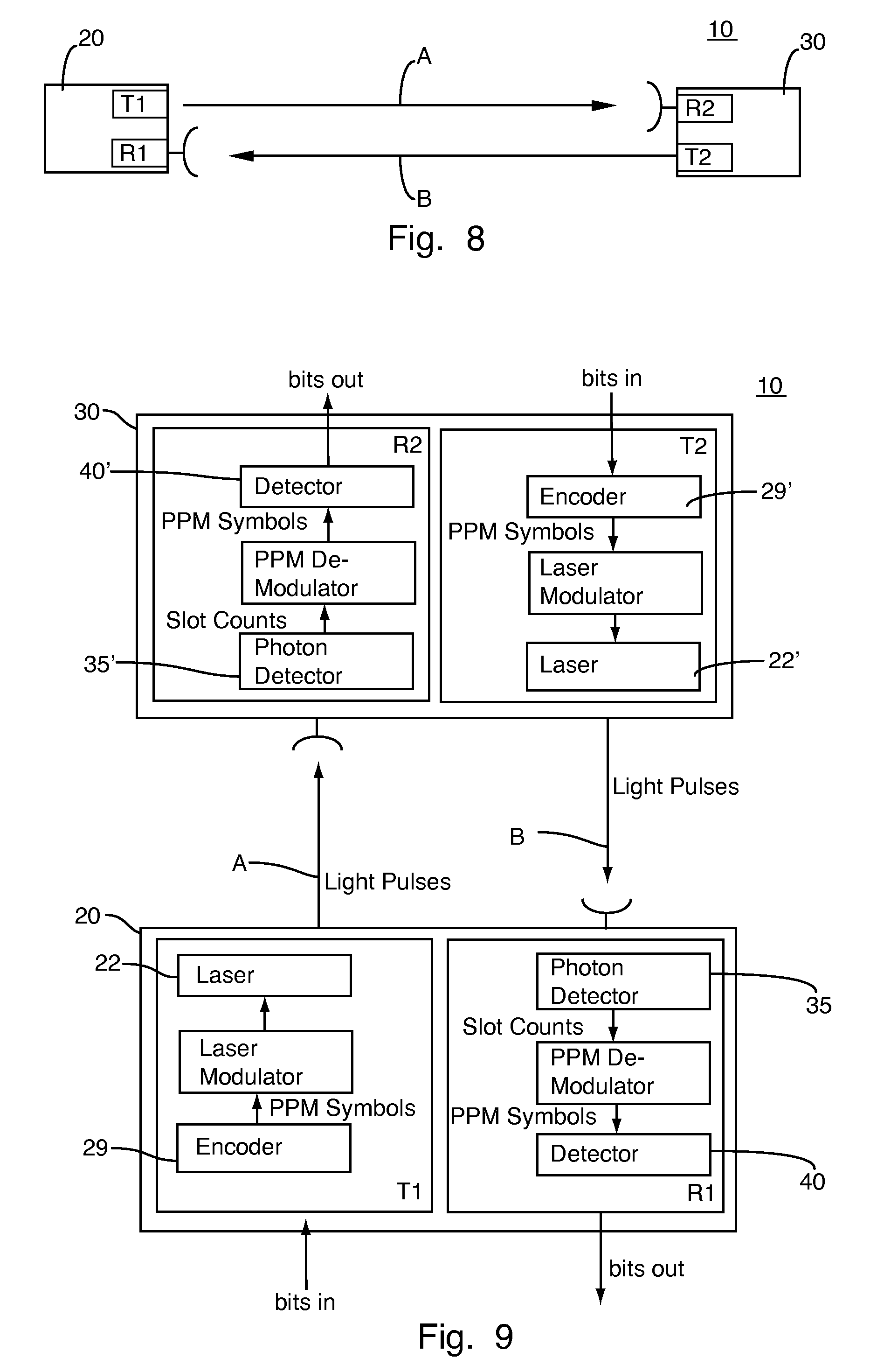 Patent Us20080187322 Optical High Rate Pulse Position Modulation Ppm Circuit Design Drawing