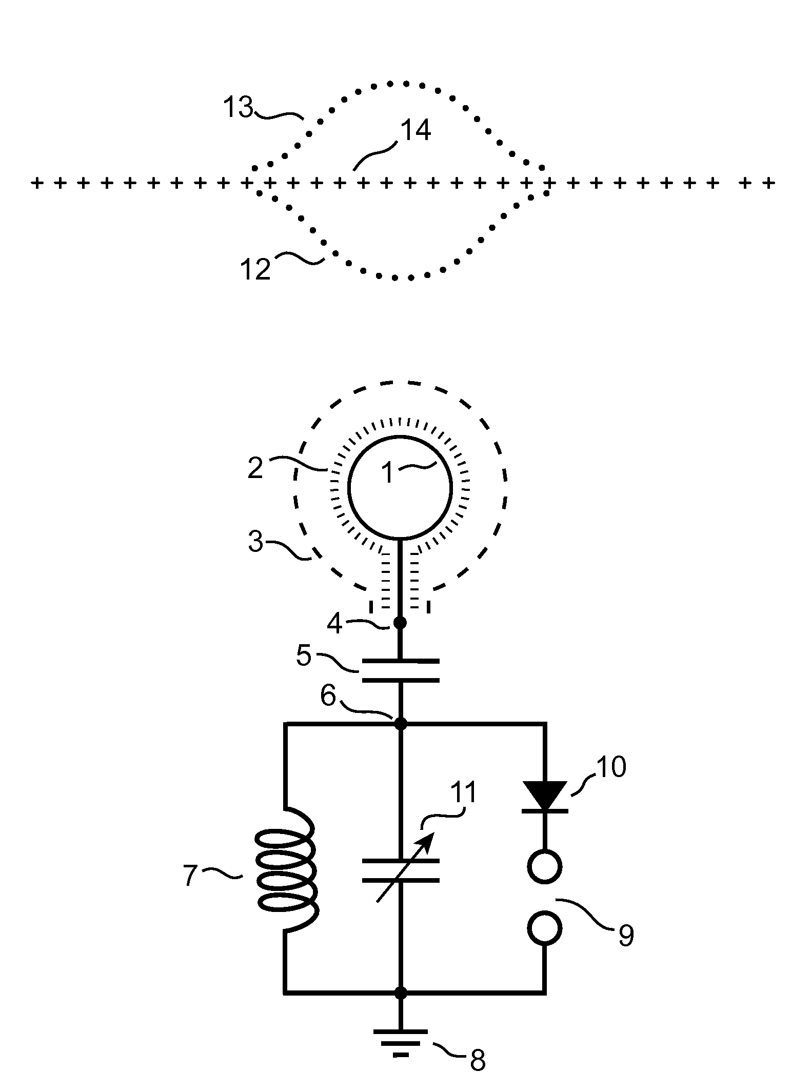 patent us20080191580 - harmonic energy exchange device