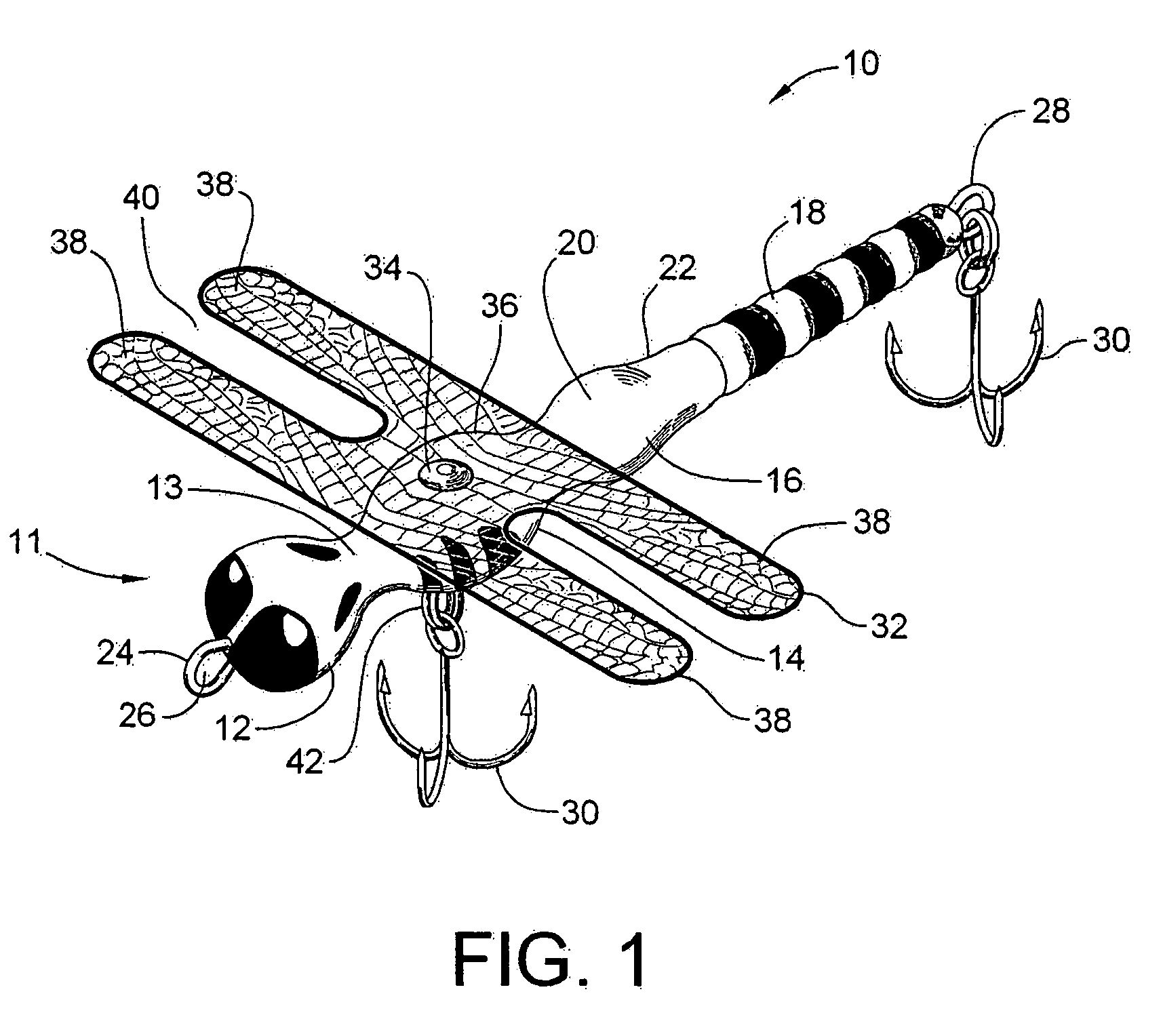 Patent Us20080202016 Dragonfly Fishing Lure Google Patents