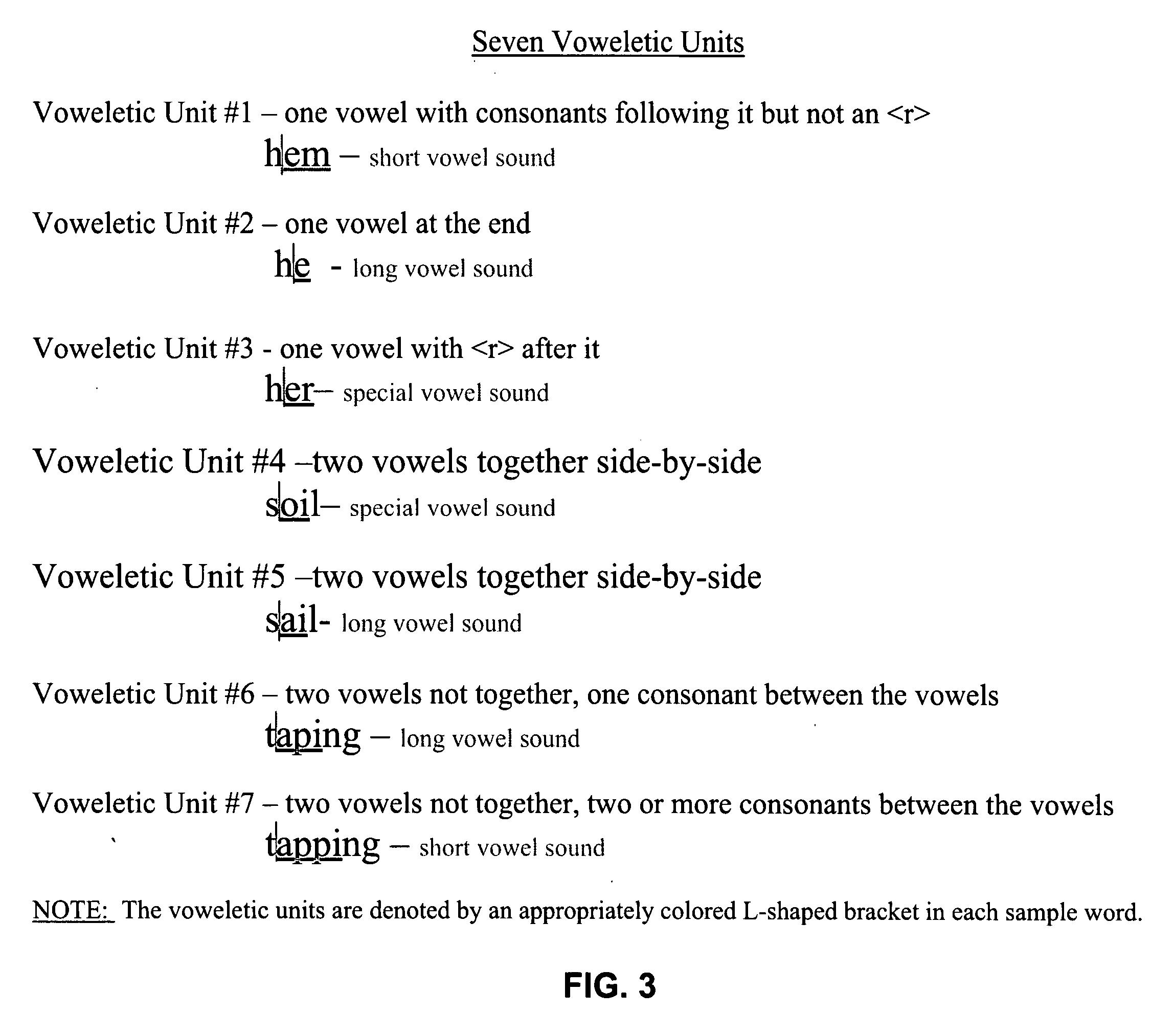Long vowel coloring sheet - Long Vowel Coloring Sheet Patent Drawing