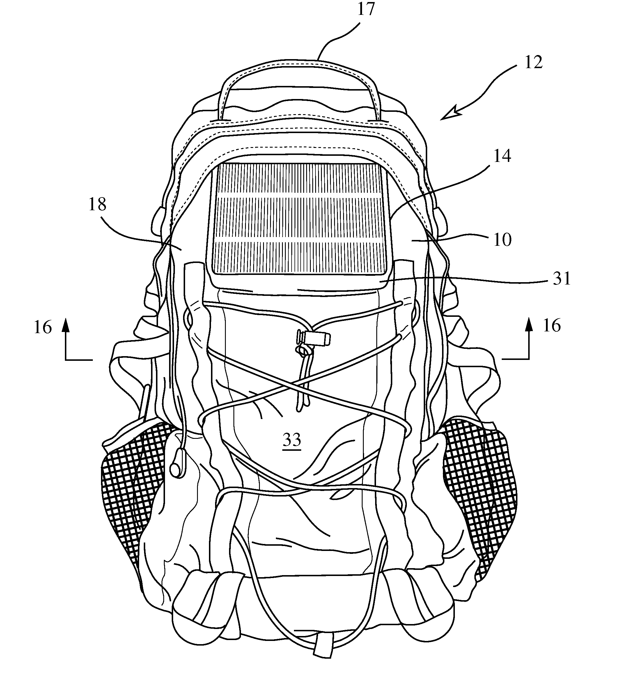 patent us20080210728 solar backpack google patents