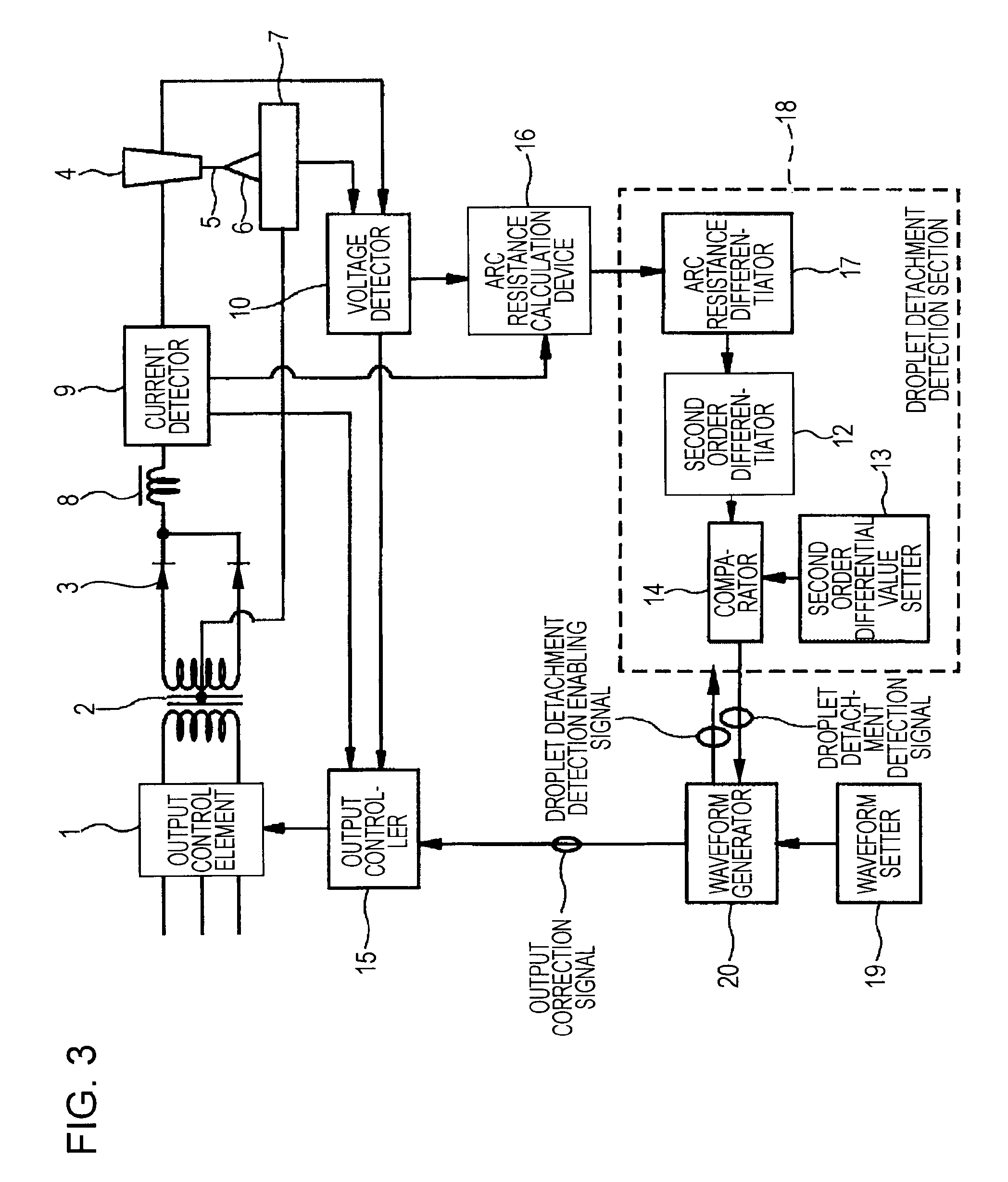 Patent Us20080237196 Consumable Electrode Type Gas Shielded Circuit Diagram Resistance Calculator Drawing