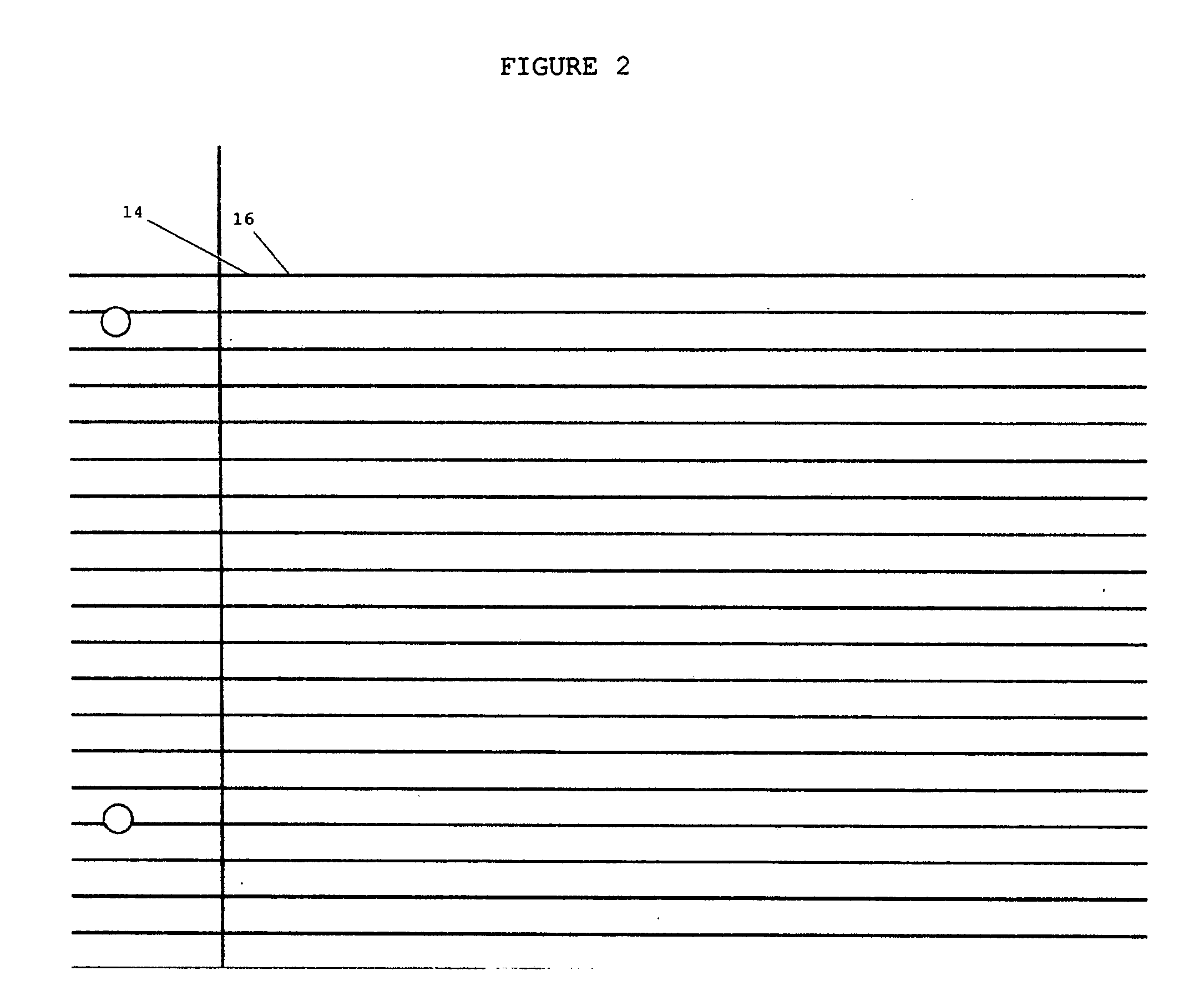 Patent US20080261182 Skipaspace writing and composition paper – Wide Lined Writing Paper