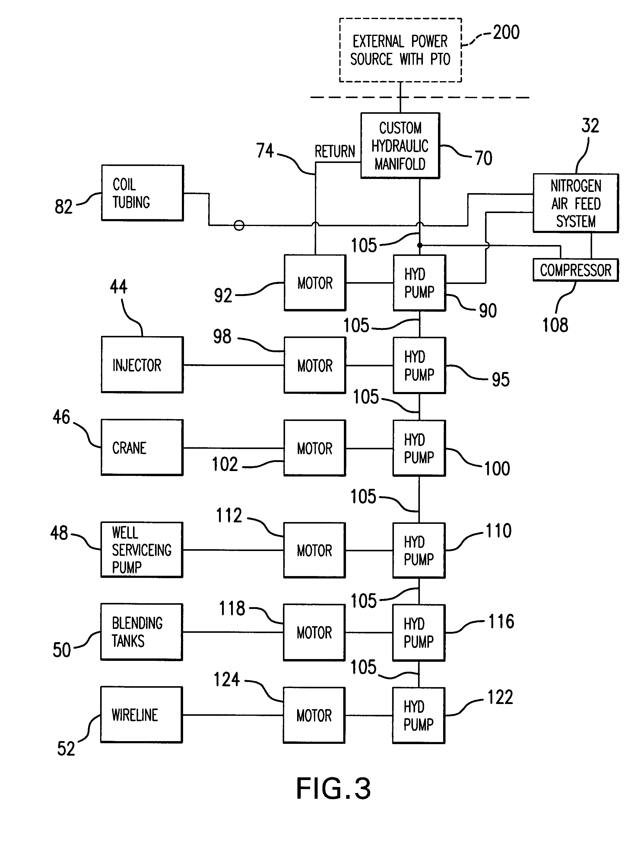 Patent Us20080264649 Modular Well Servicing Combination
