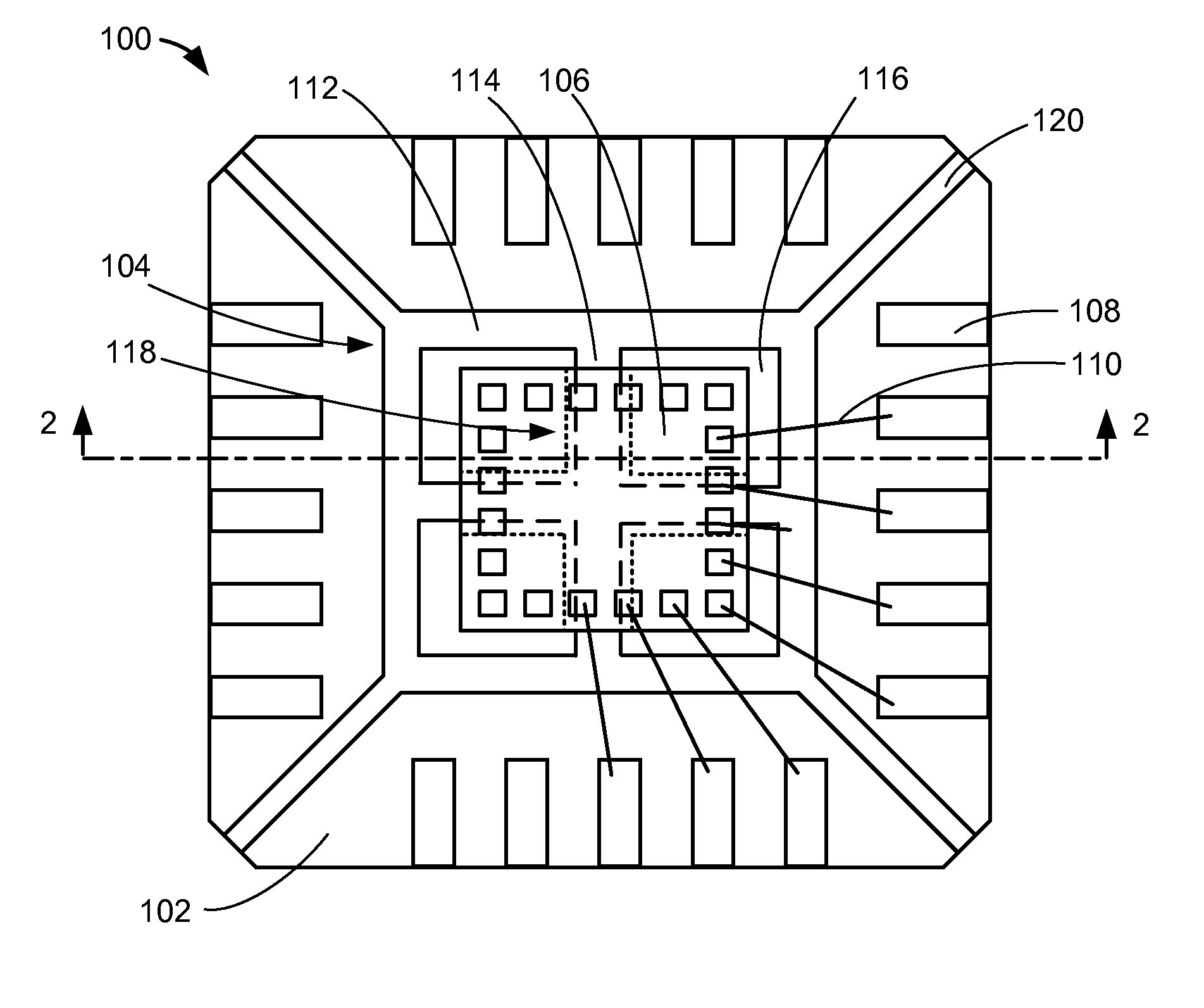 patent us20080273312 - integrated circuit package system with interference-fit feature