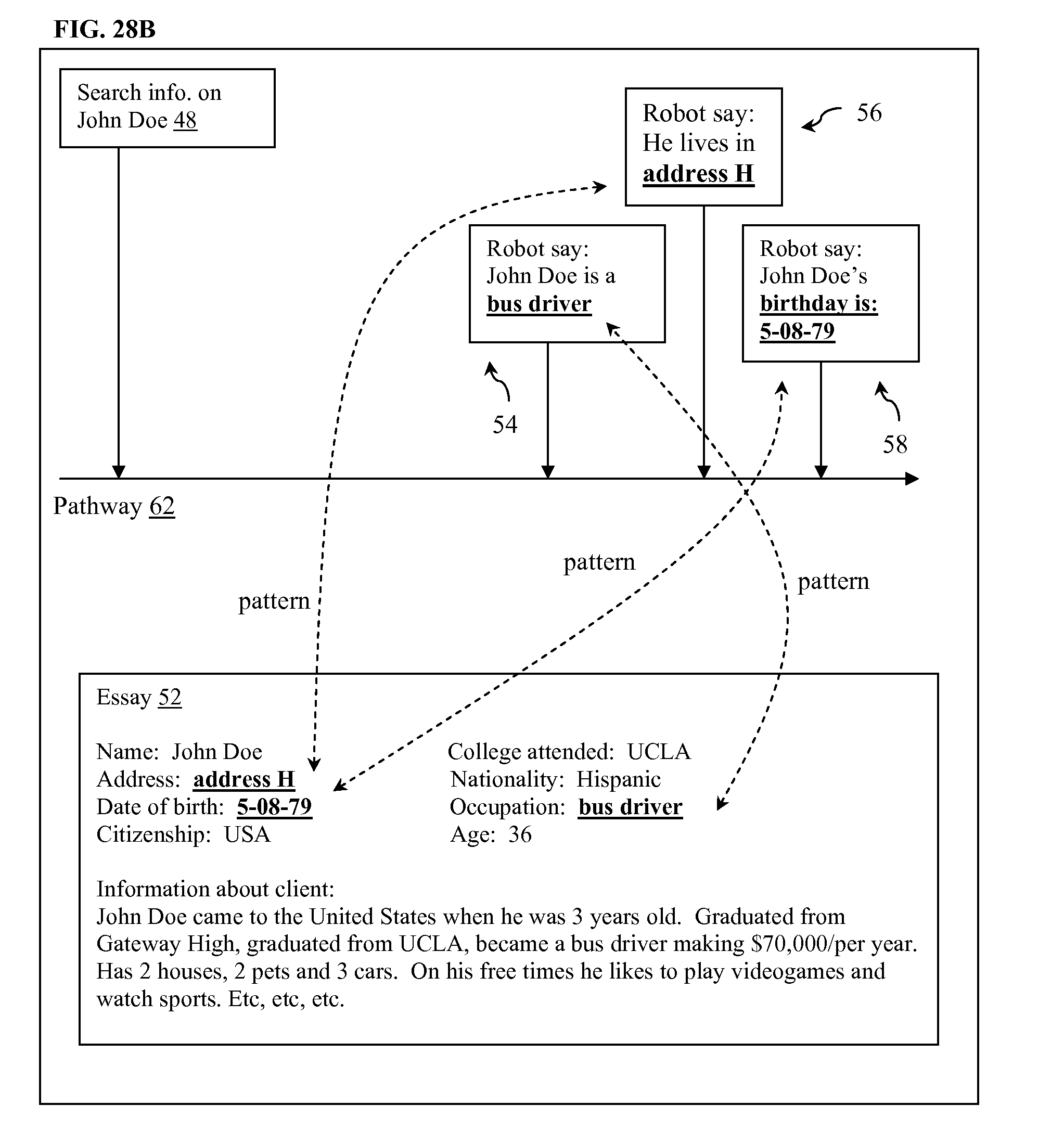 patent us time machine software patents patent drawing