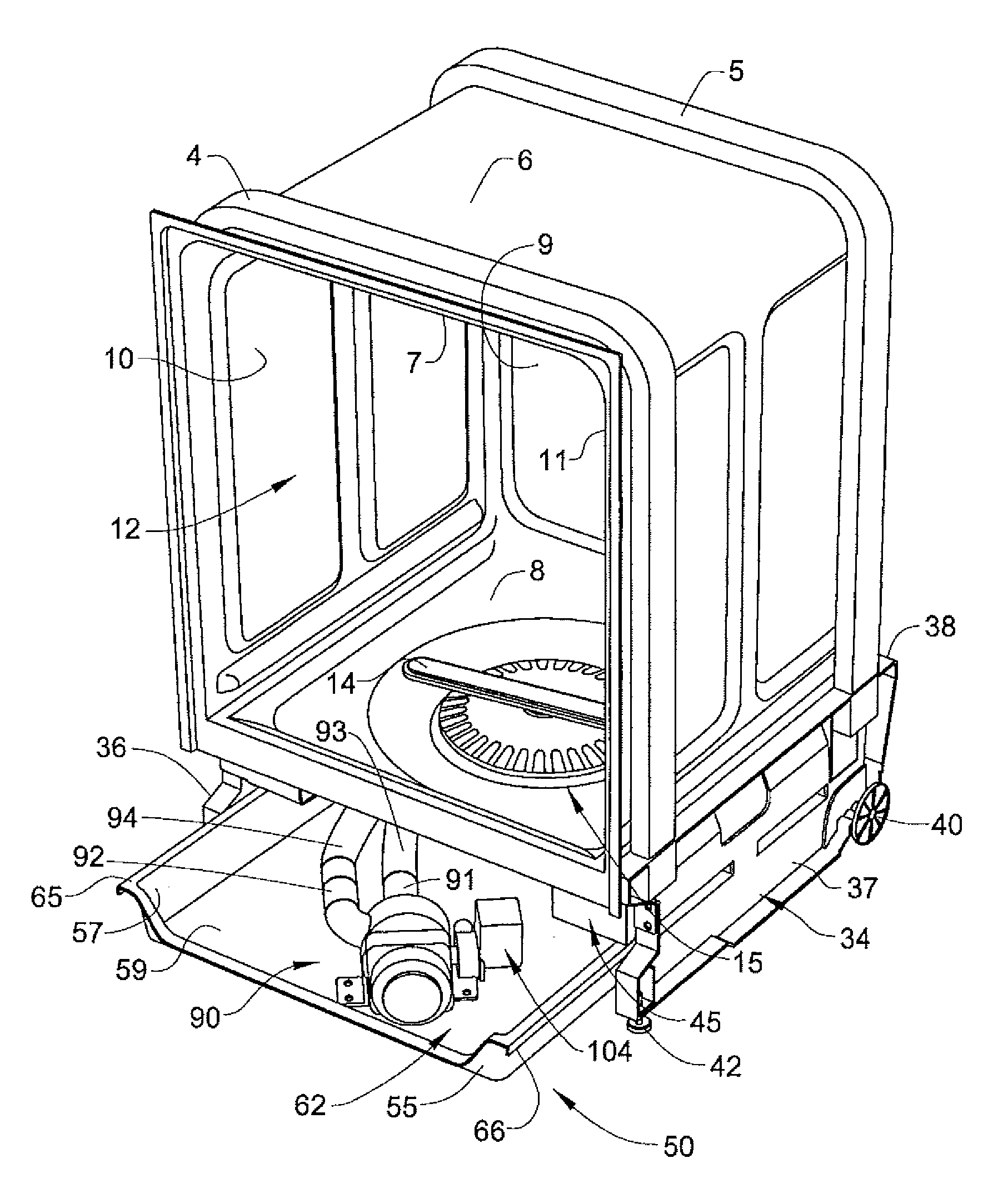 Patent Us20080289664 Modular Drip Pan And Component
