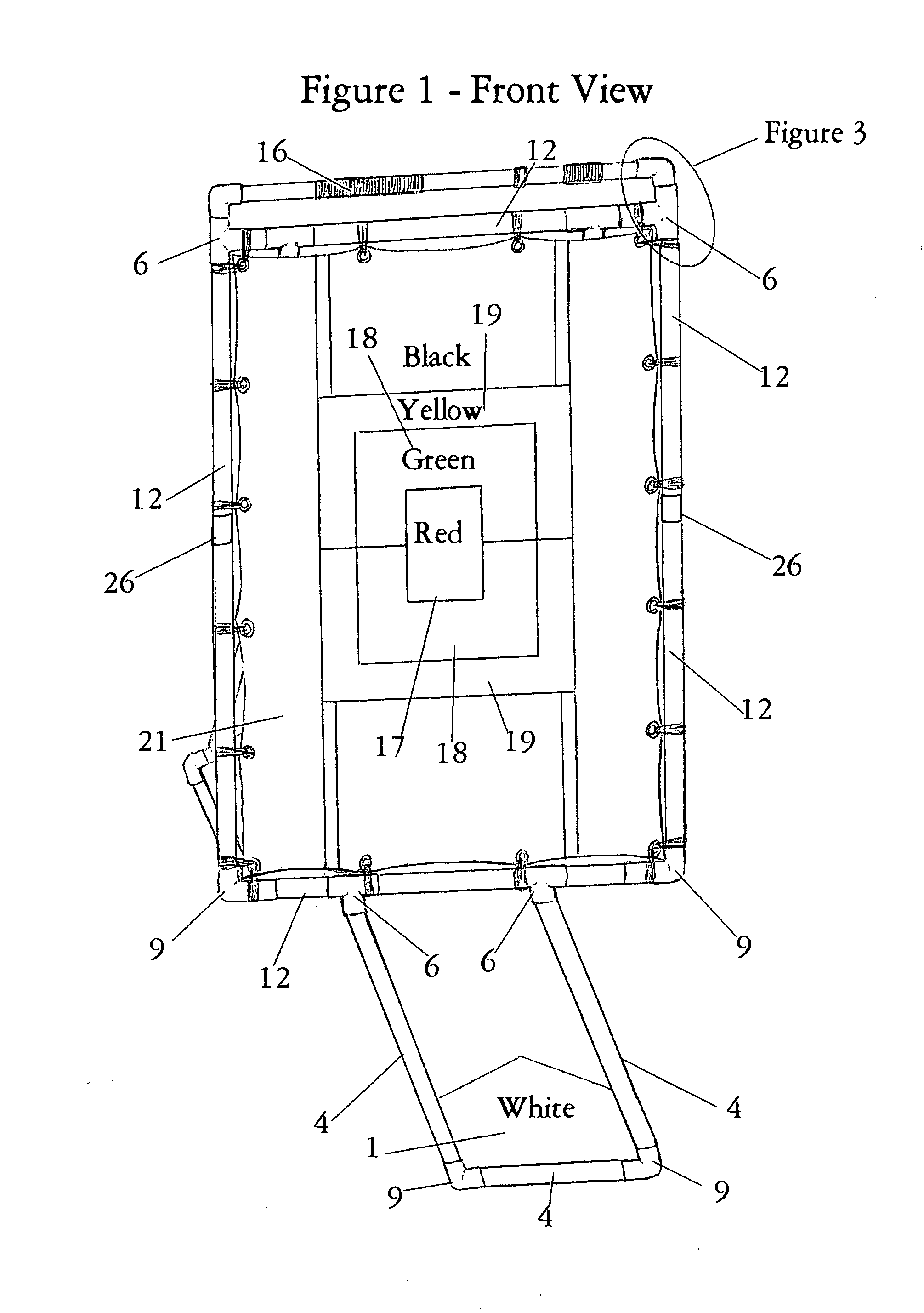 Patent US20080312011 - Baseball/Softball Strike Zone Trainer For ...