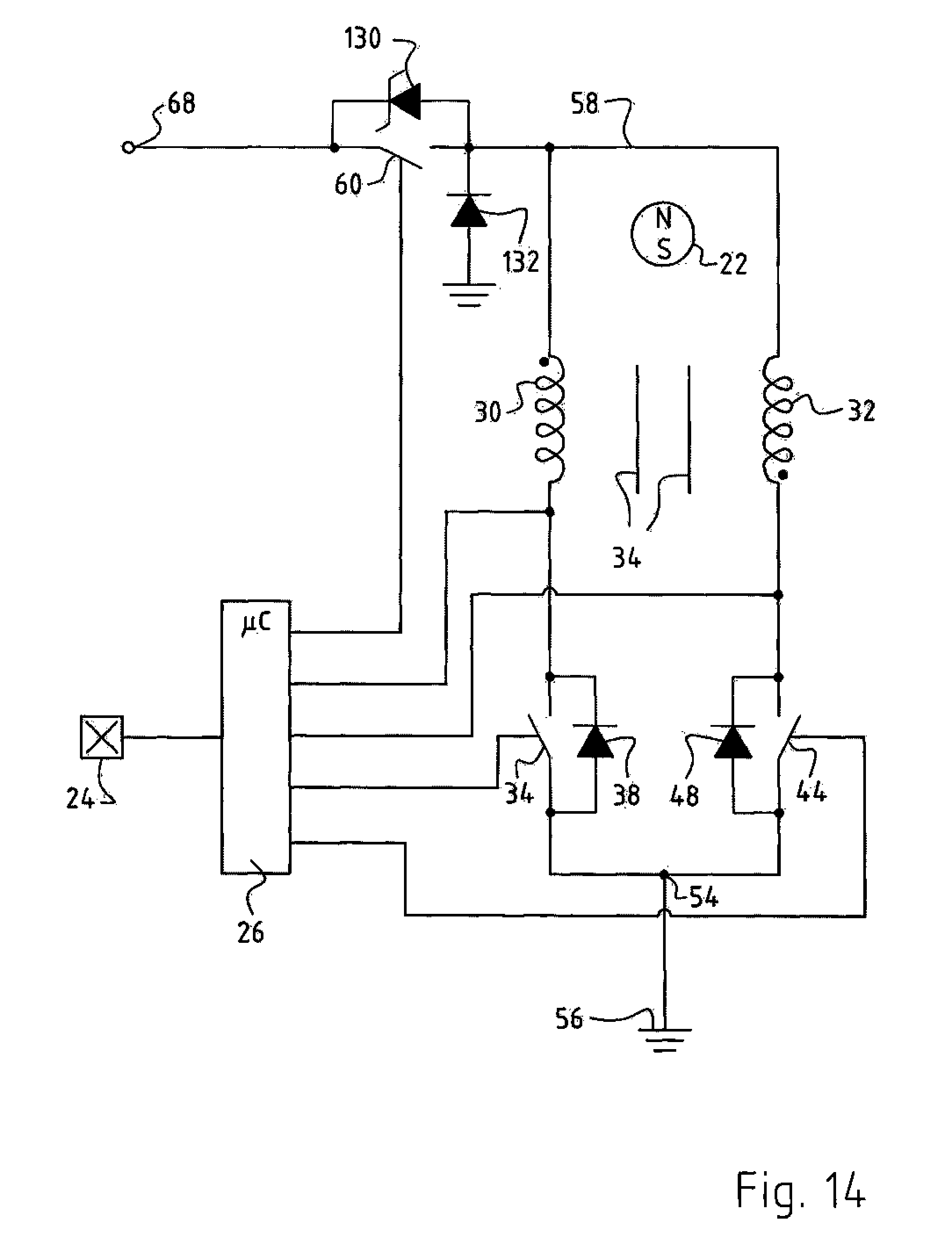 Patent us20080315807 method for operating an for Electronically commutated motor ecm