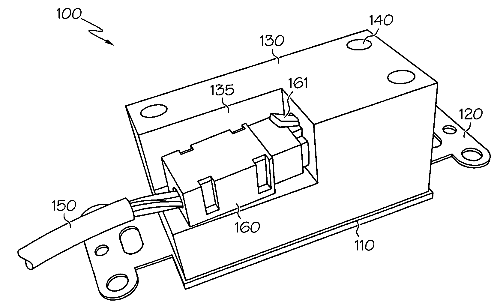patent us20080318474 - wall plate assembly with integral universal serial bus module
