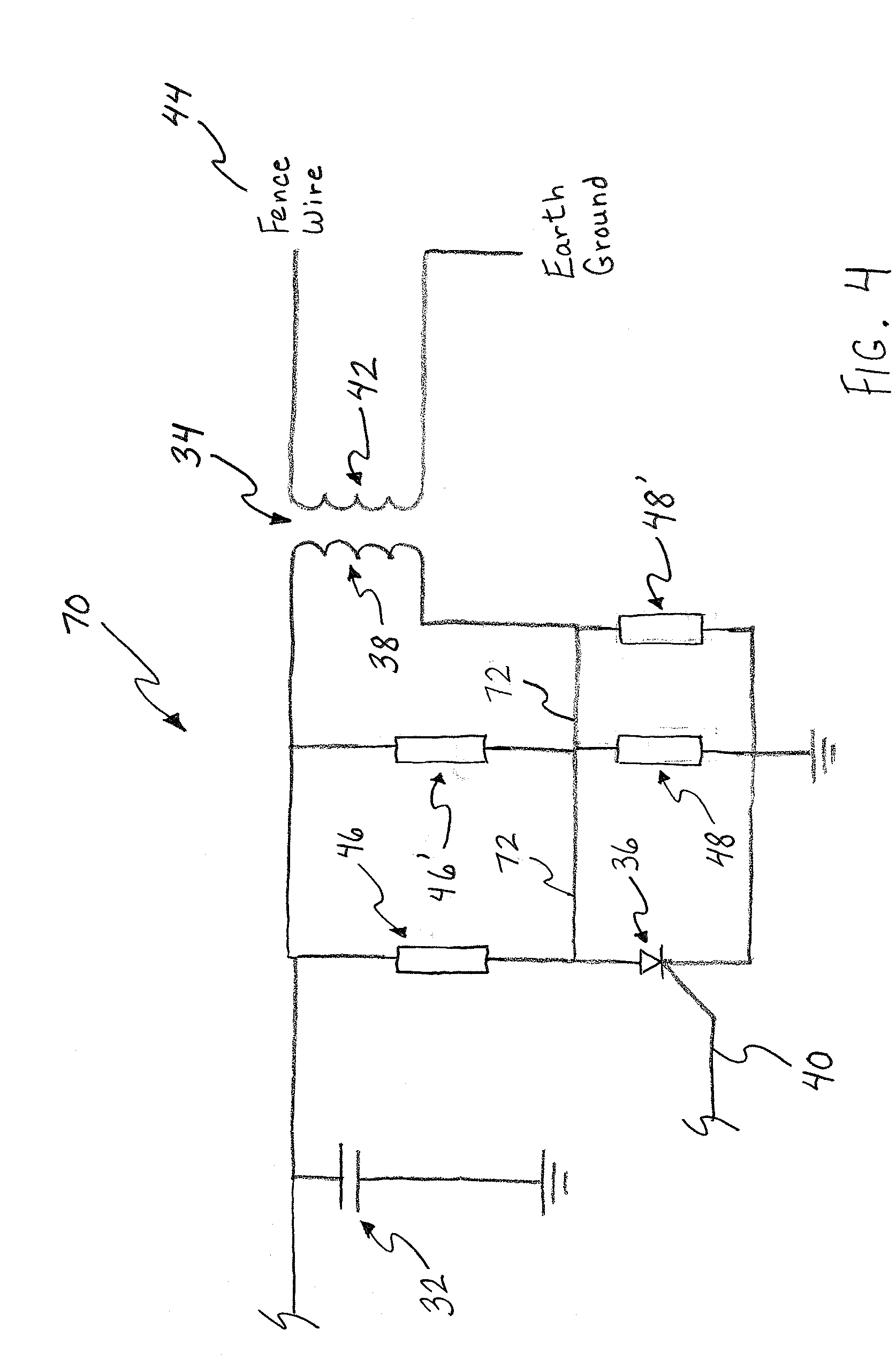 patent us20090002912 - electric fence energizer lightning protection
