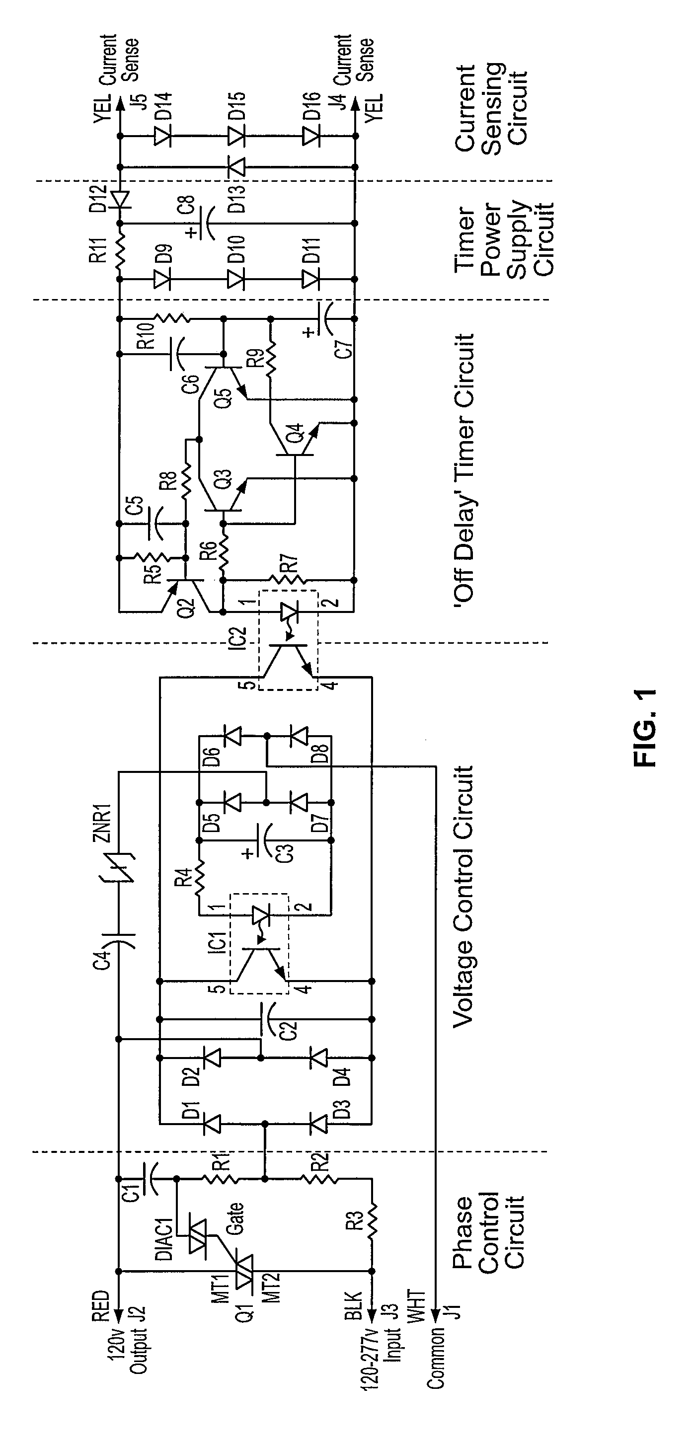 Patent Us20090027016 Auxiliary Lighting Circuit For A Gaseous Off Delay Timer Diagram Drawing