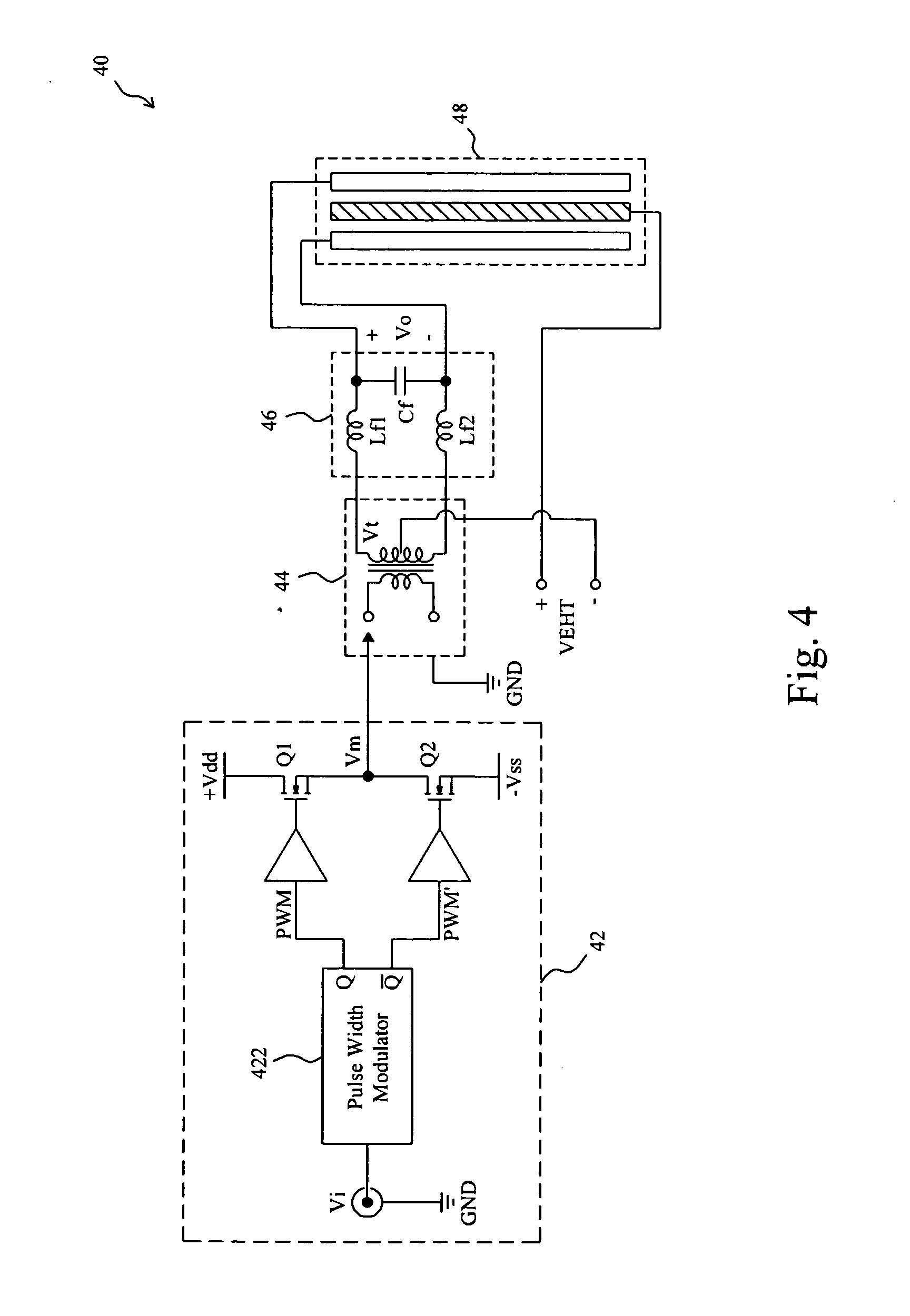 patent us20090041266 electrostatic loudspeaker driver google