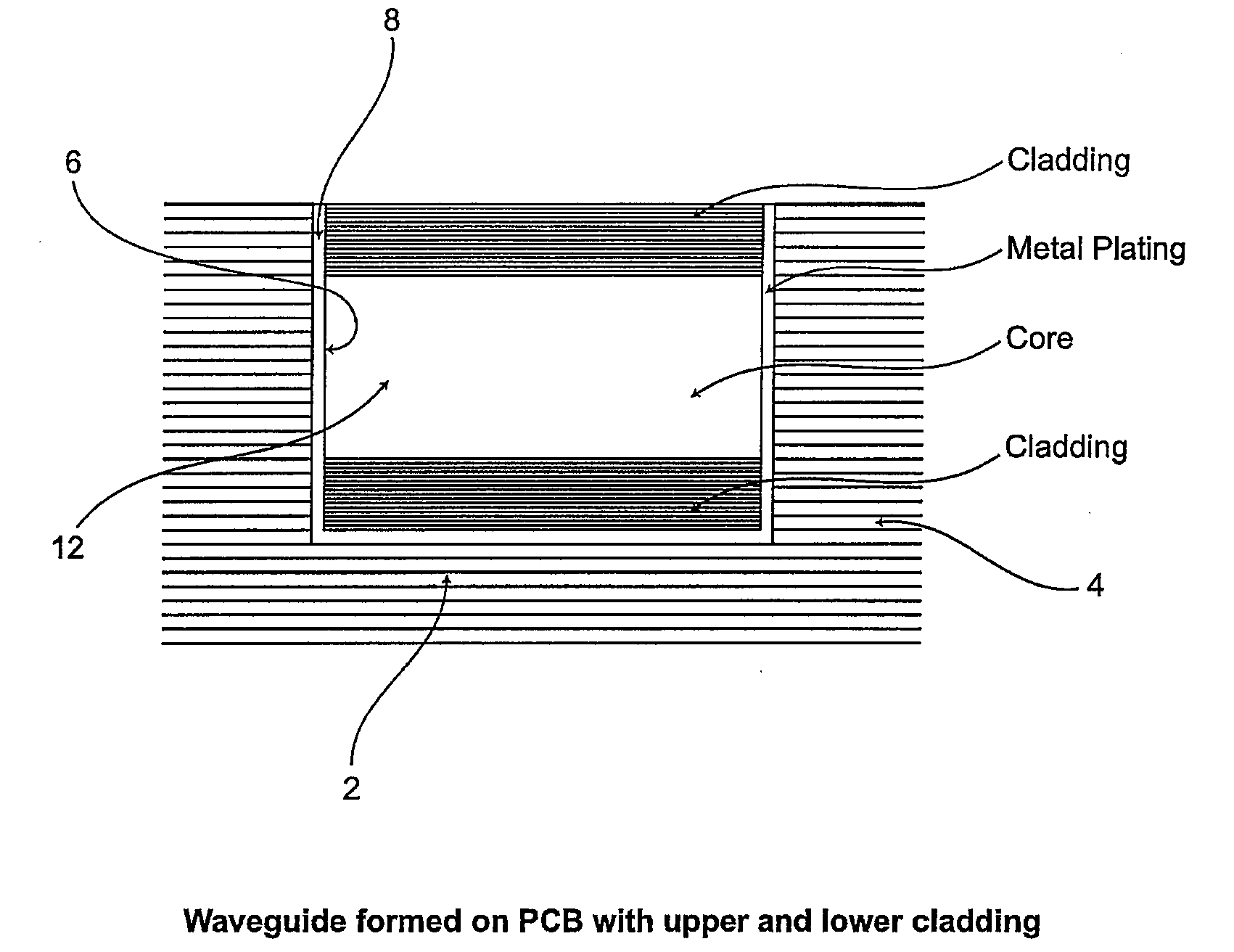 Patent Us20090041409 Electro Optical Printed Circuit Board And A Multi Grooved Wiring Drawing