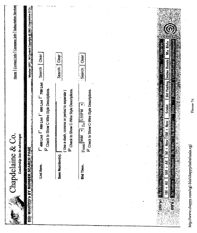 Patent US Interactive Security Brokerage