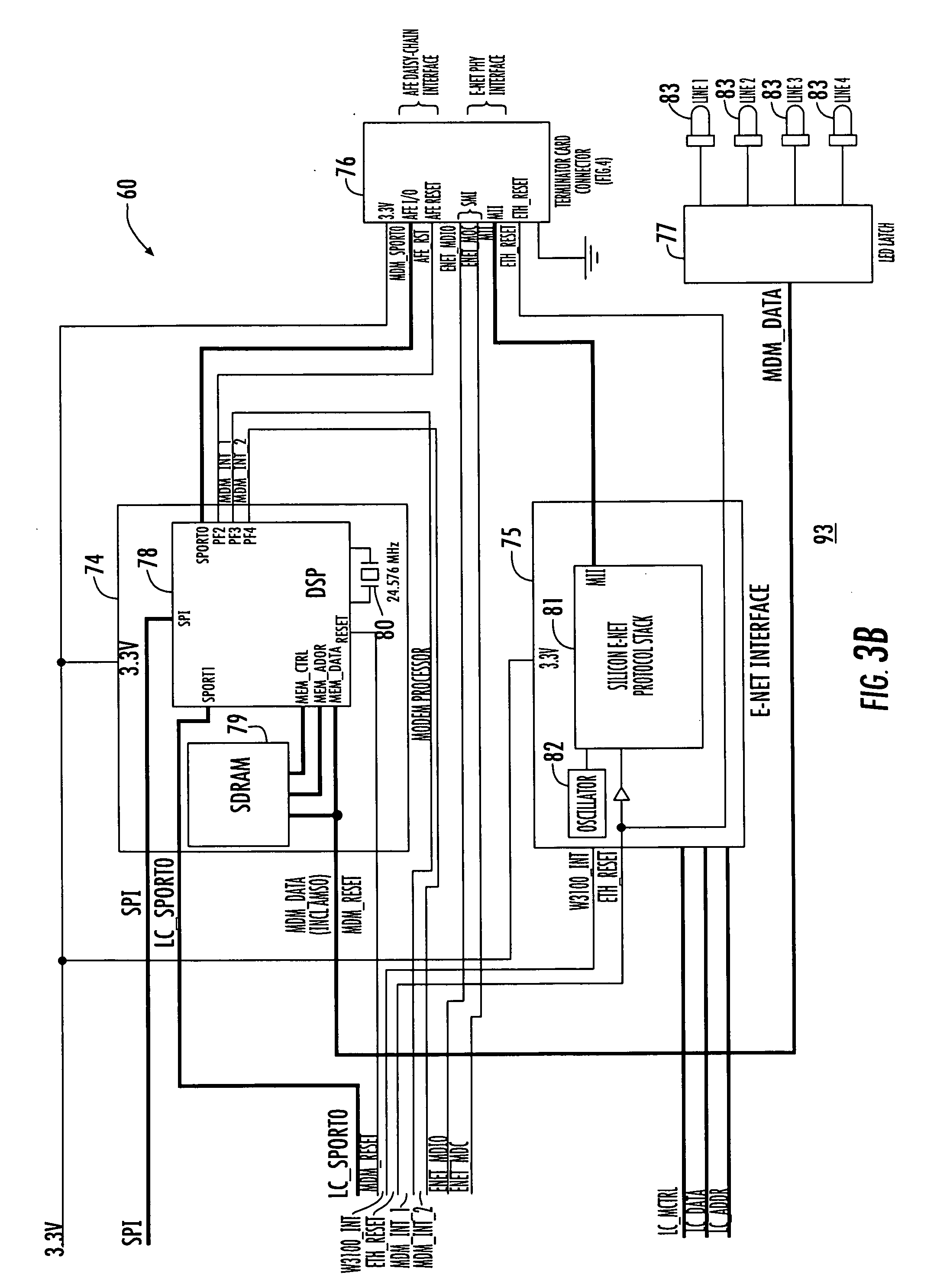 US20090058630A1 20090305 D00005 patent us20090058630 system and method for monitoring security sonitrol alarm wiring diagram at nearapp.co