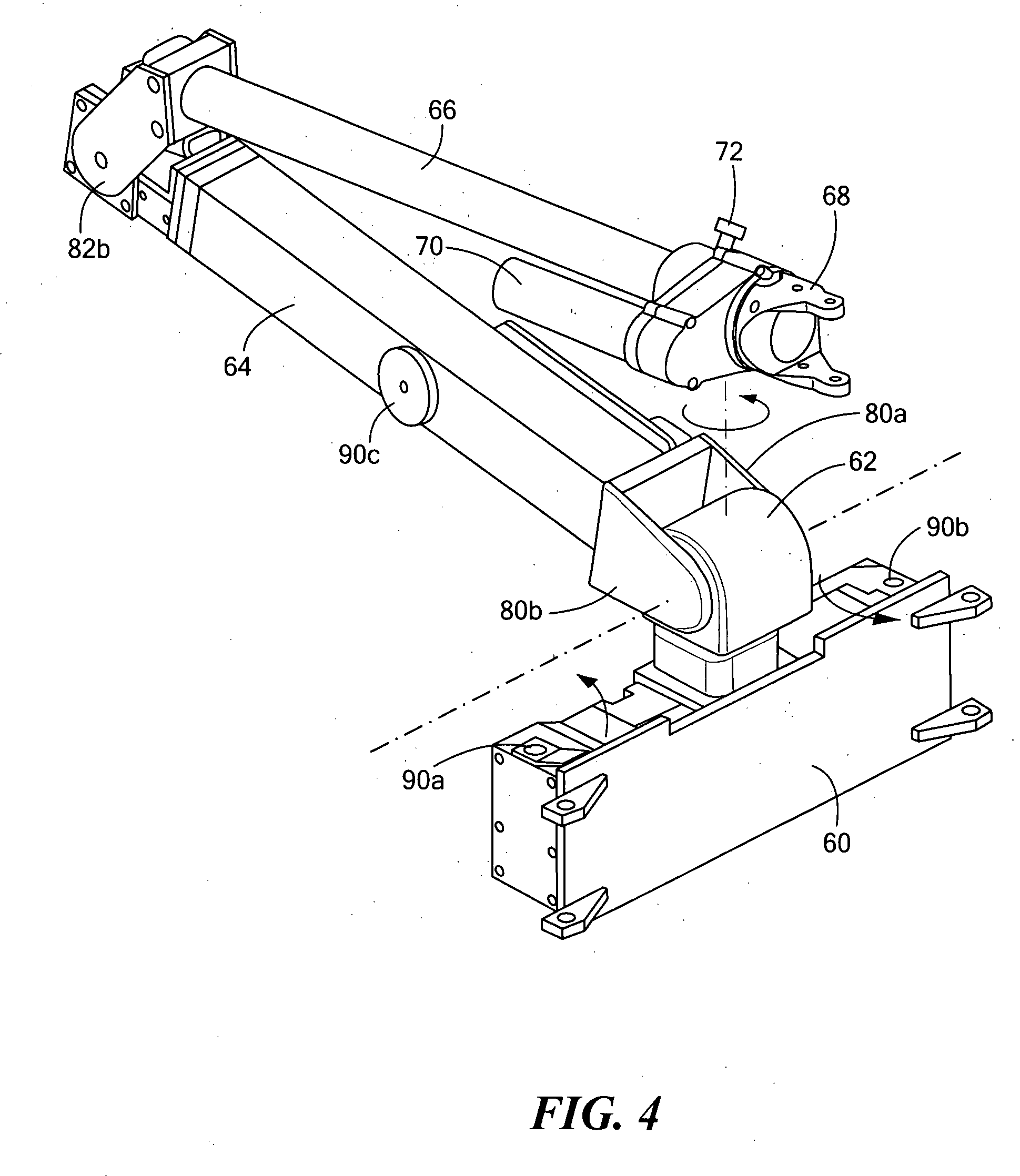 patent us20090071281 - robot arm assembly