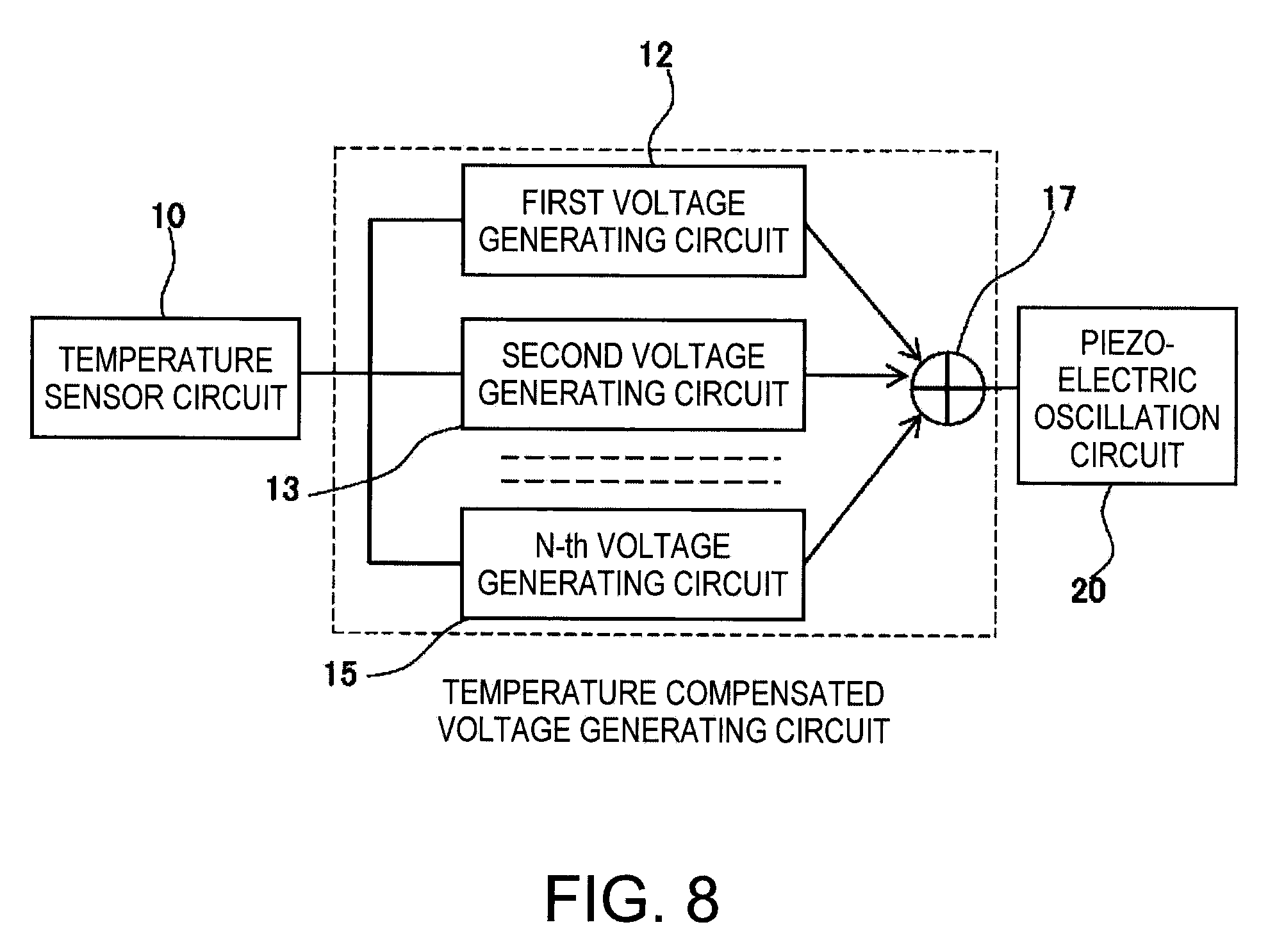 Patent Us20090091373 Temperature Sensor Circuit And Is Placed In The Base To Ground Oscillator Drawing