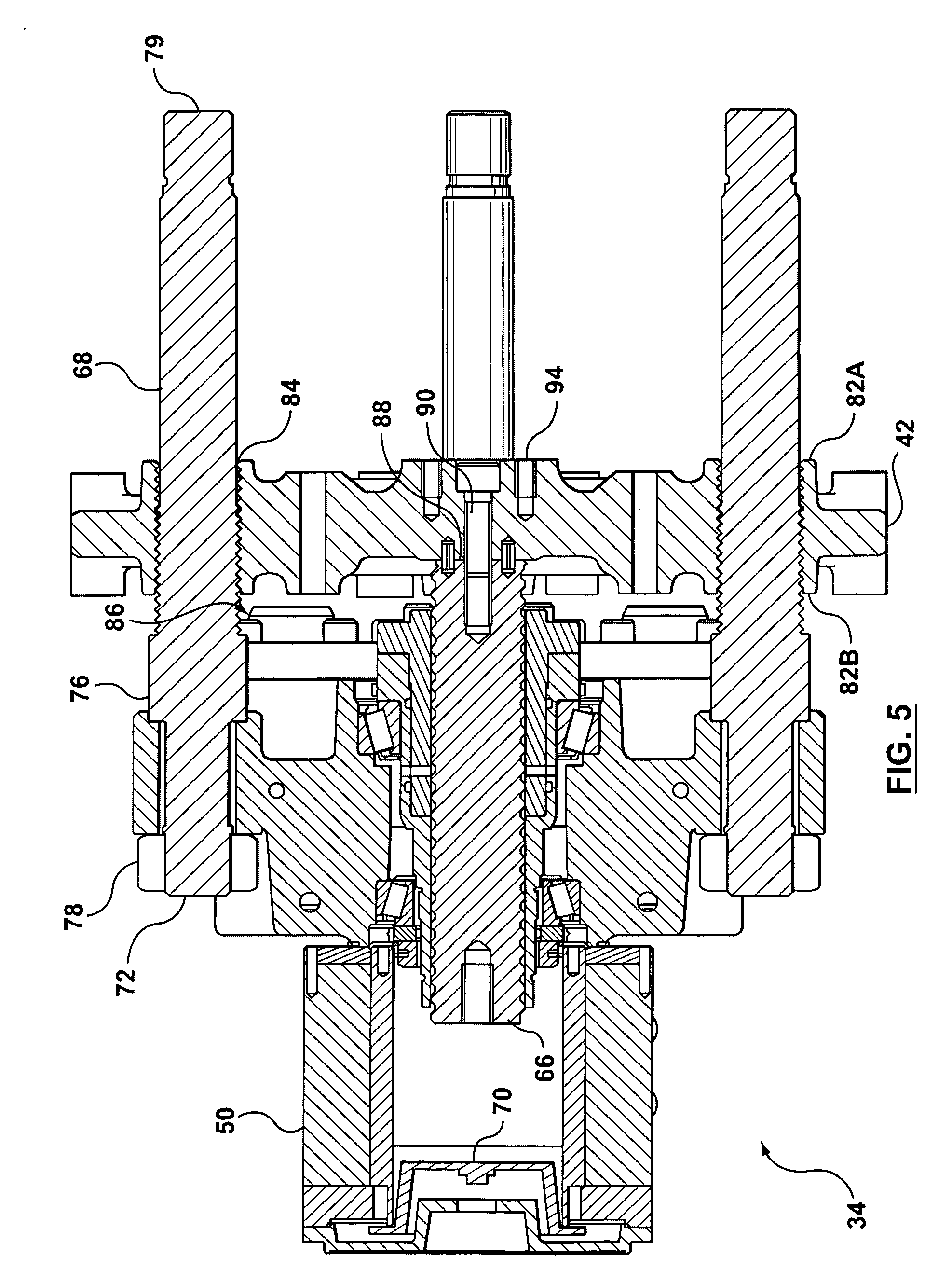 patent us20090104305 - ejector assembly for ejecting parts from a mold
