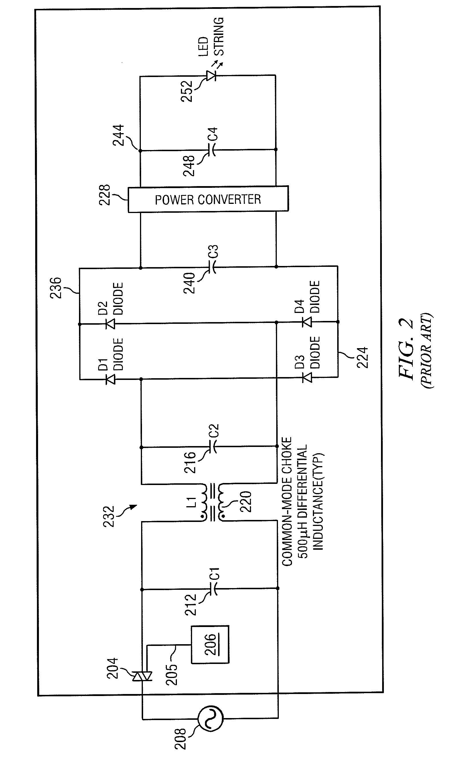Patent Us20090122580 Thyristor Power Control Circuit Google Patents Drive Scr Flash Diagram Powersupplycircuit Drawing