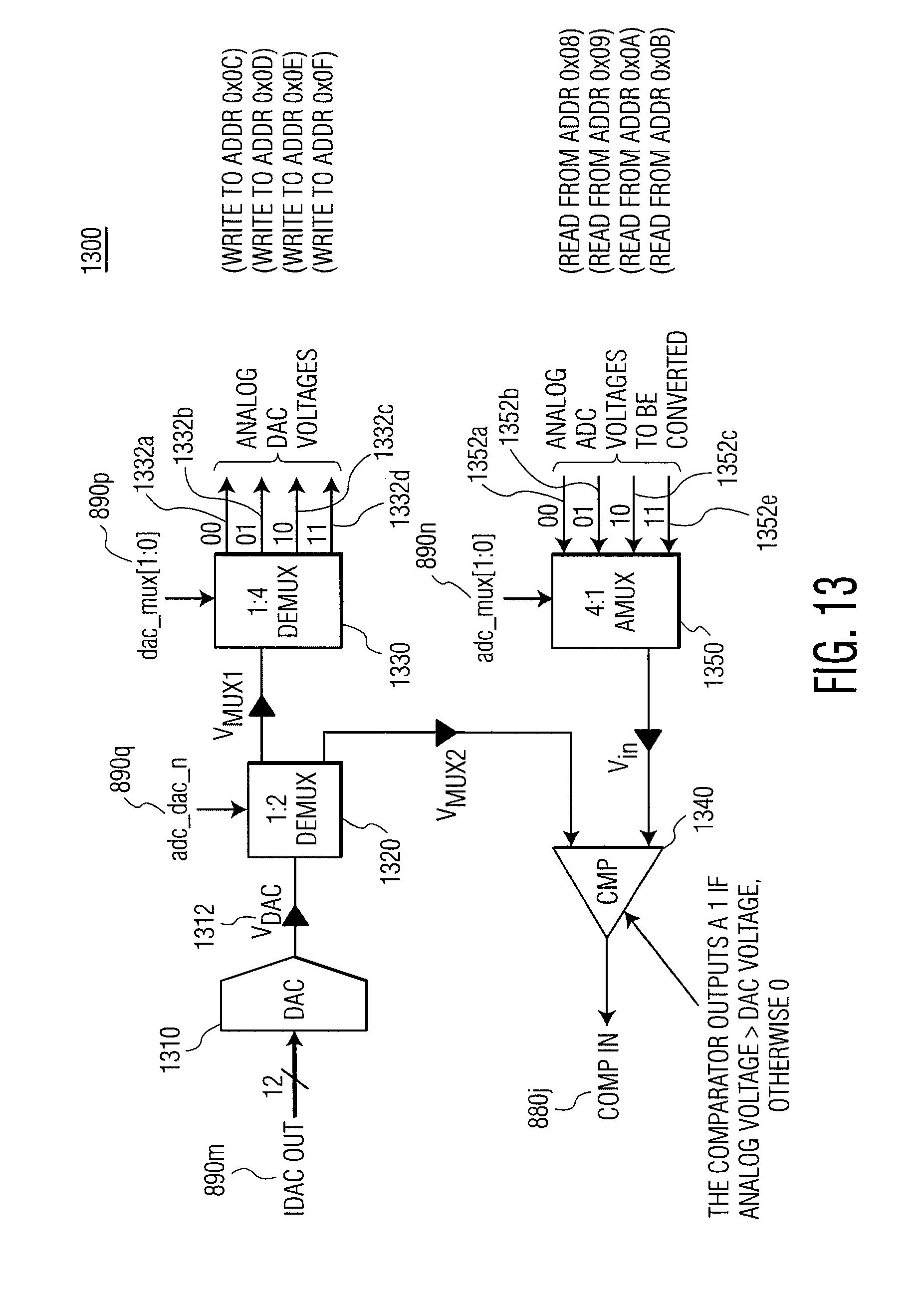 Patent Us20090140901 Risa Controller For An Rf Integrated Circuit Logic Diagram 2 Bit Demultiplexer Drawing