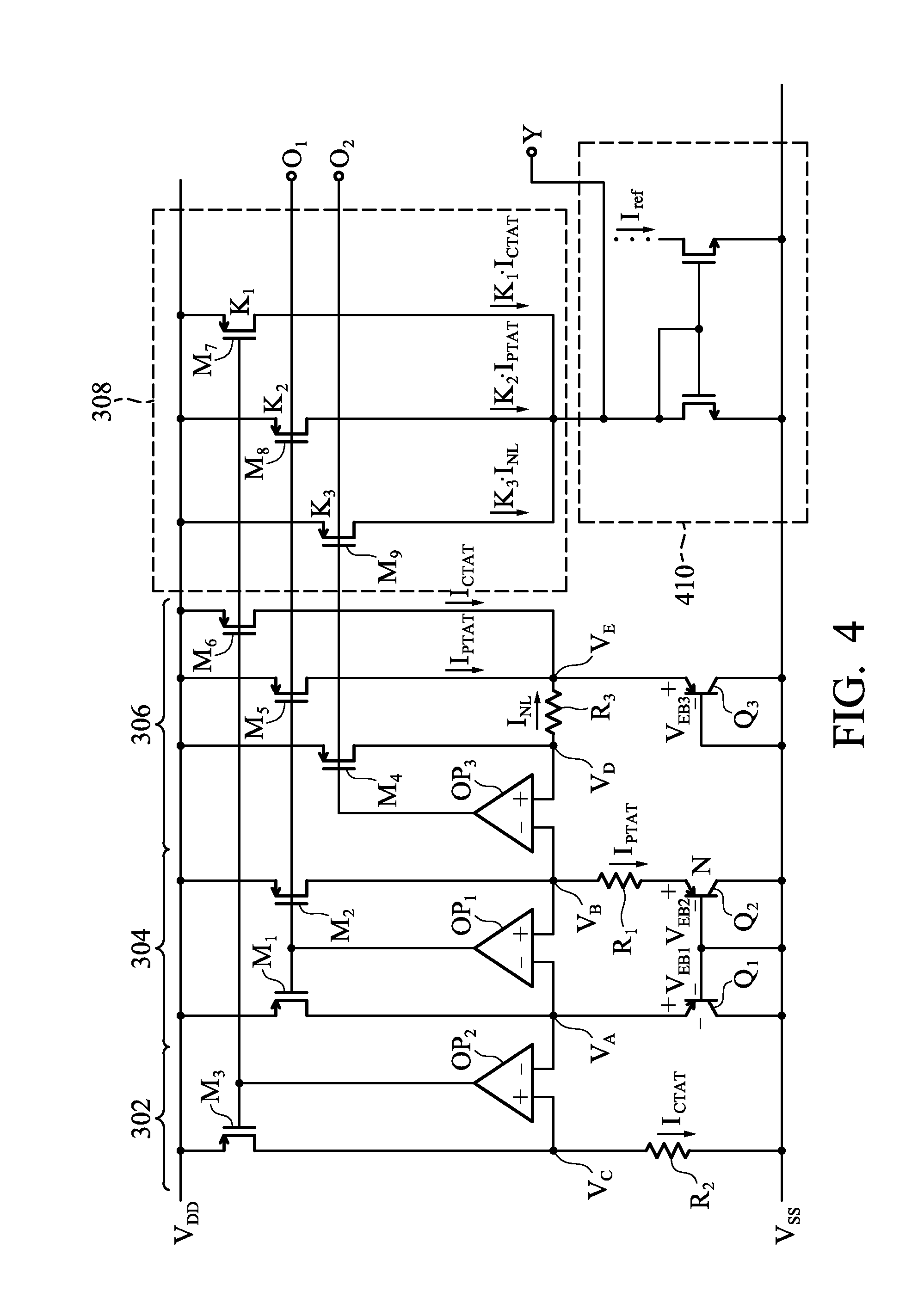 bandgap reference circuit