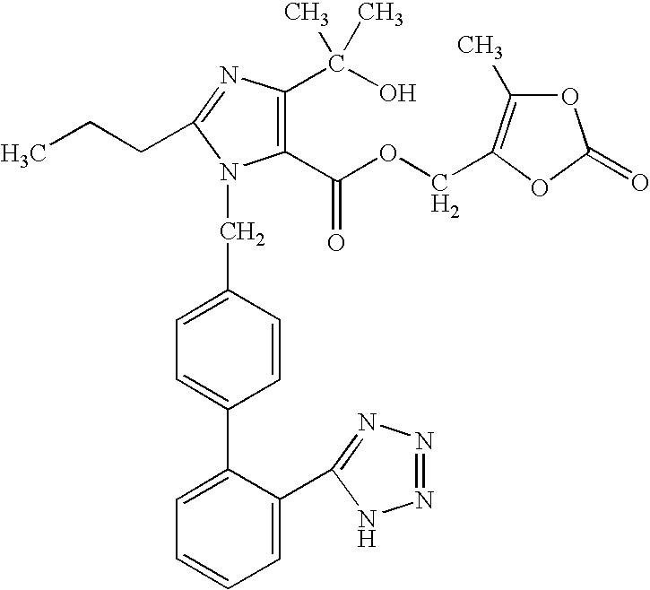 Olmesartan Dosage Forms