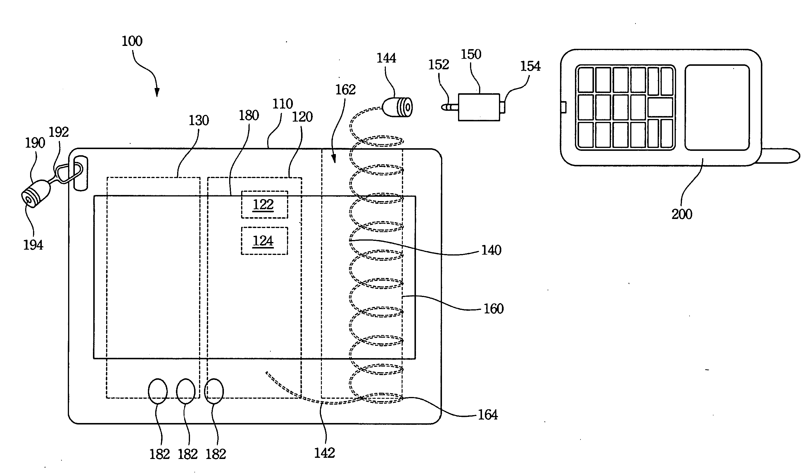 patent us20090179610 - mobile power bank