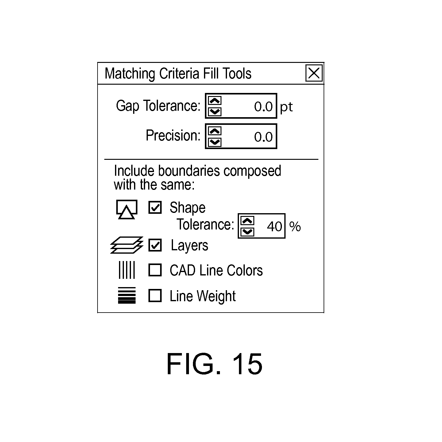 Line Drawing Using Direct Method : Patent us  region filling using matching