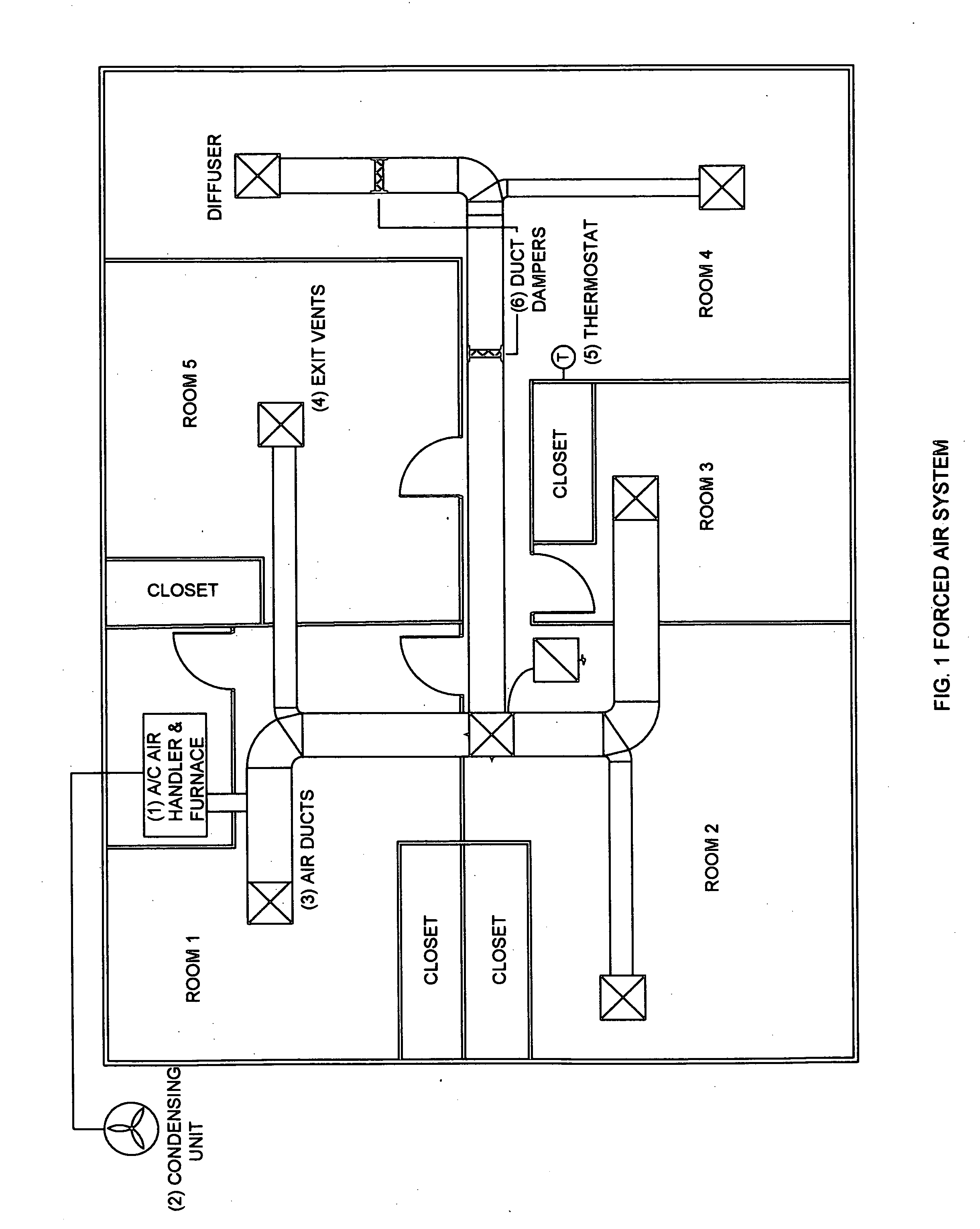 Patent US20090188985 Combined chiller and boiler HVAC system in a  #464646