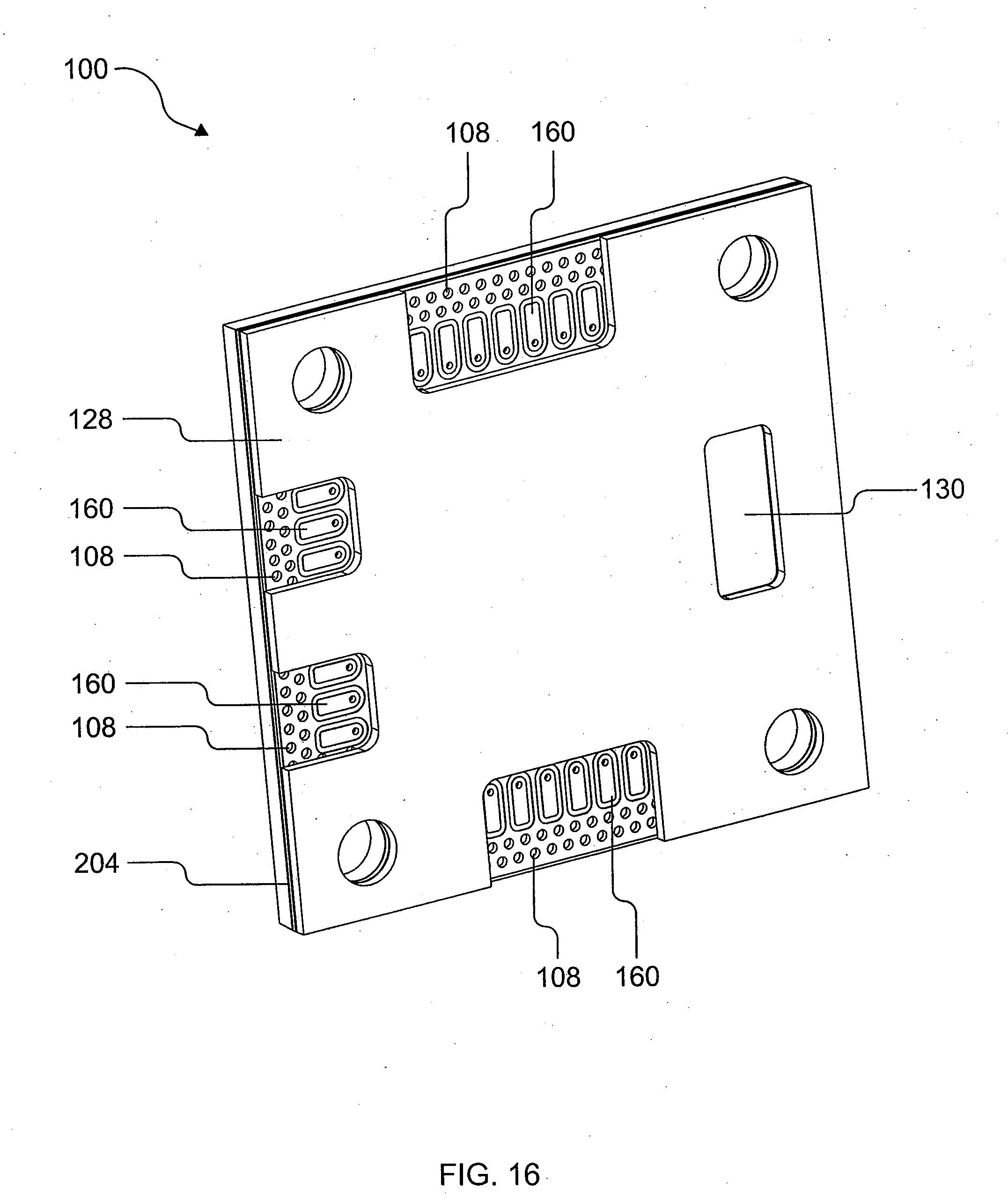 patent us20090206473 - system and method for integrated waveguide packaging