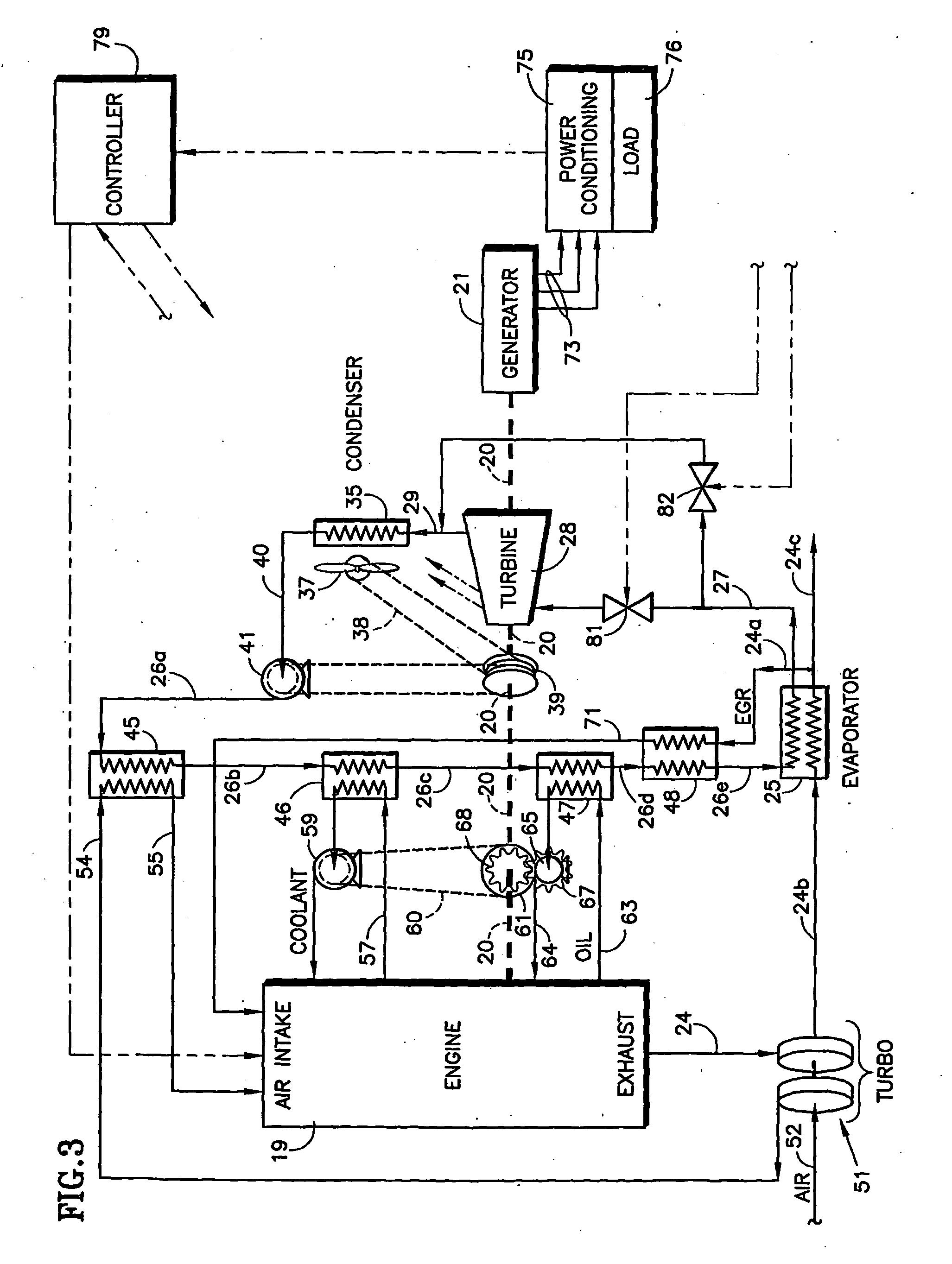 Patent US Organic Rankine Cycle Mechanically and