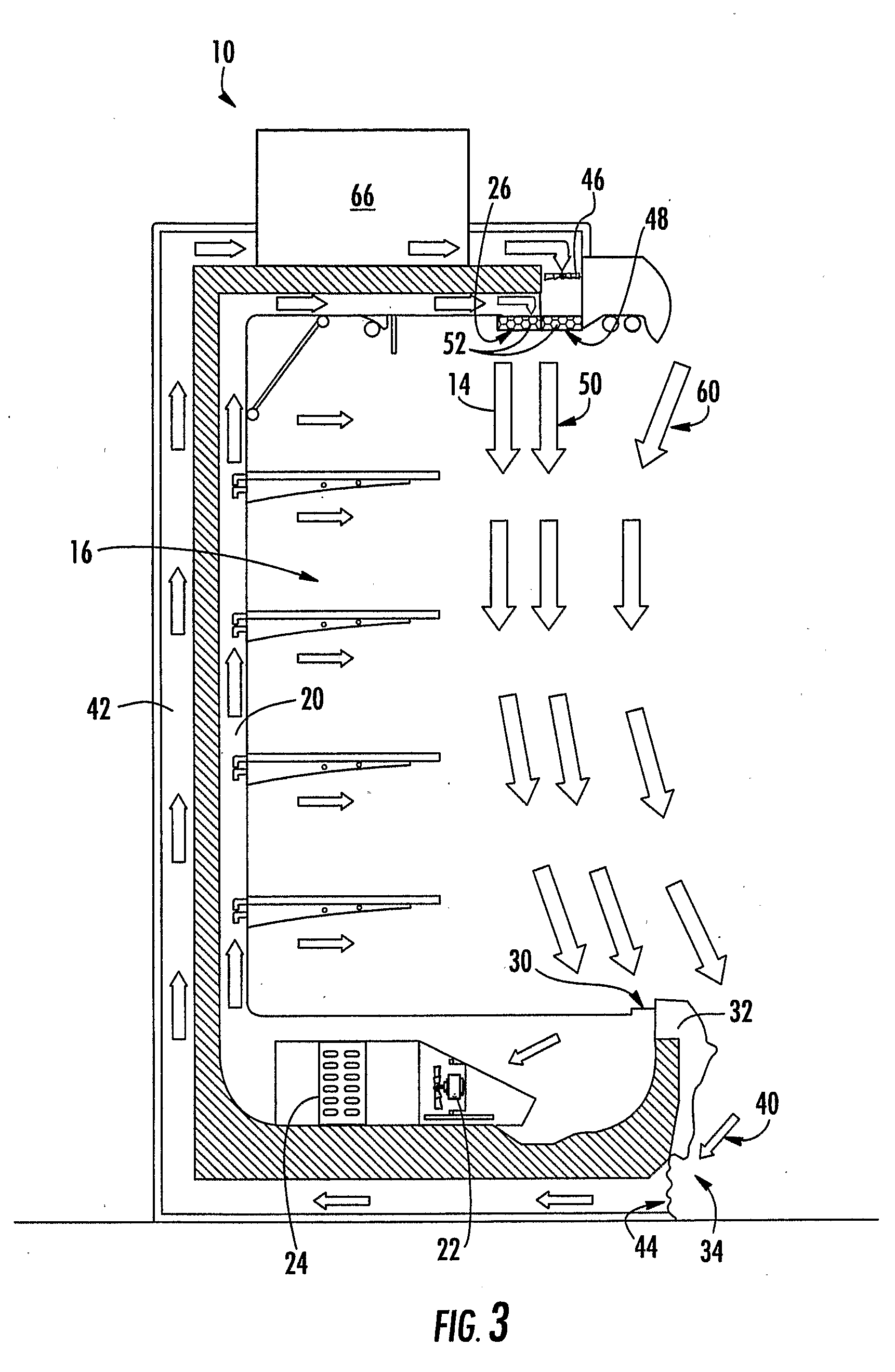 Patent Us20090215381 Air Curtain System For A Refrigerated Case Google Patents