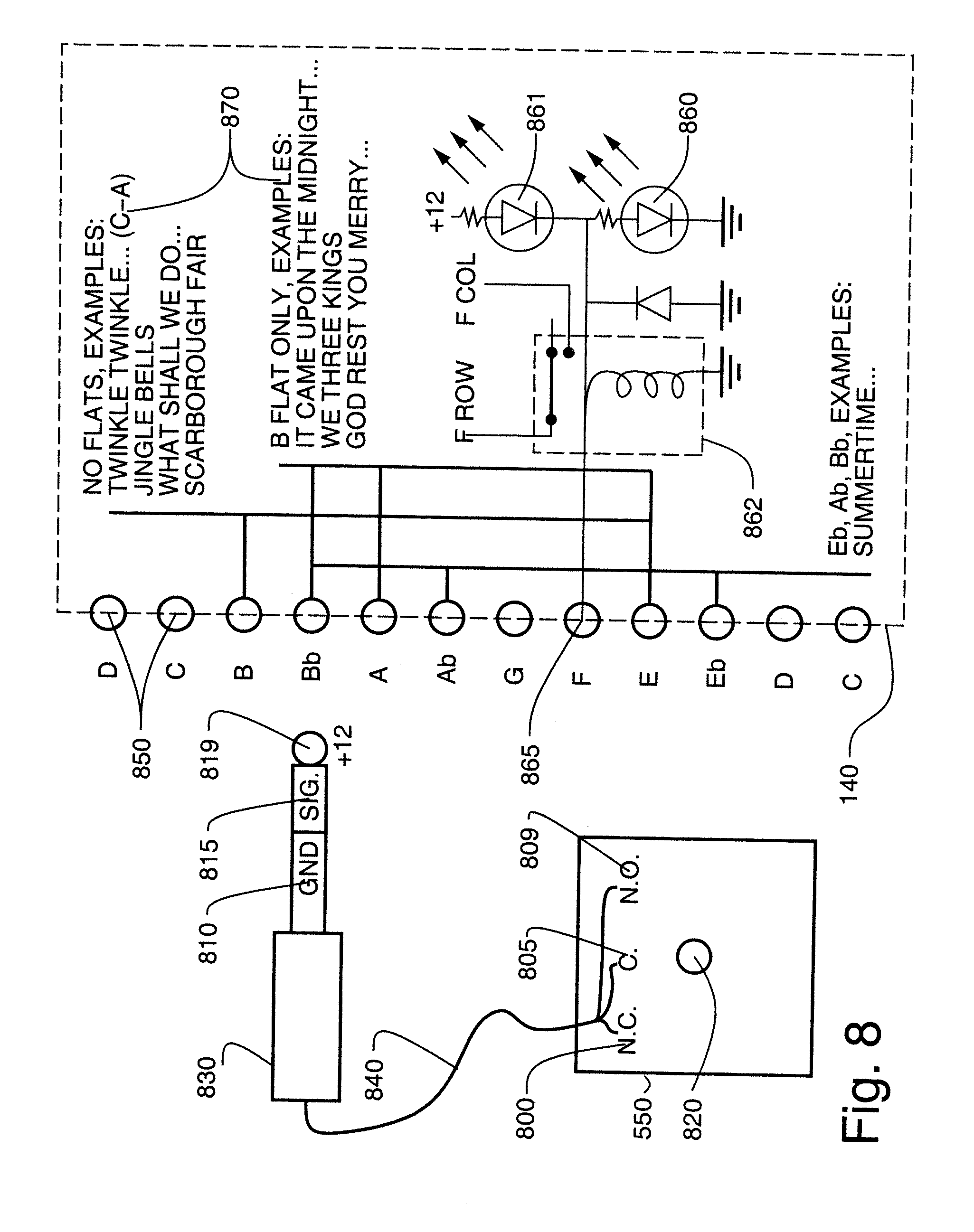 US20090223345A1 20090910 D00012 patent us20090223345 fluid user interface such as immersive wiring diagram of videoke machine at mr168.co