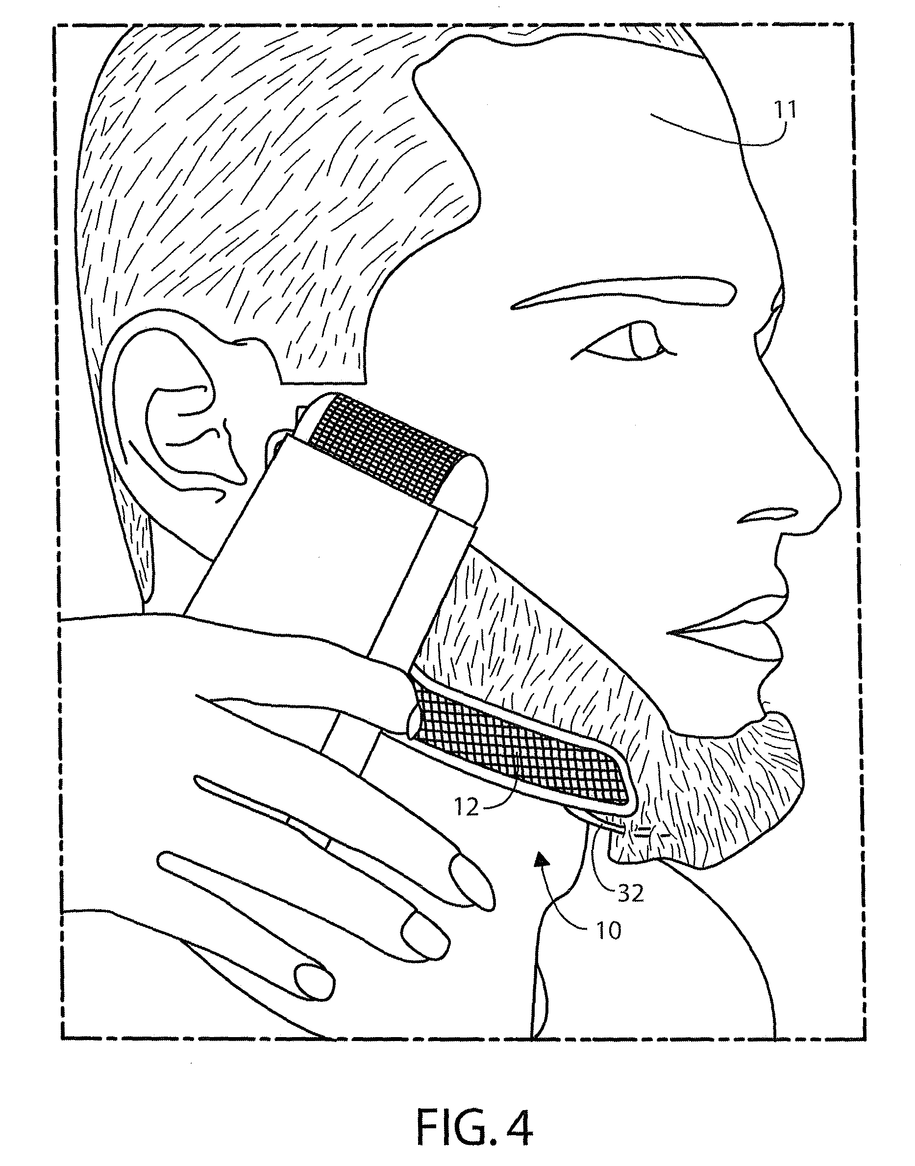 Patent US20090223530 - Facial hair trimming template and method ...