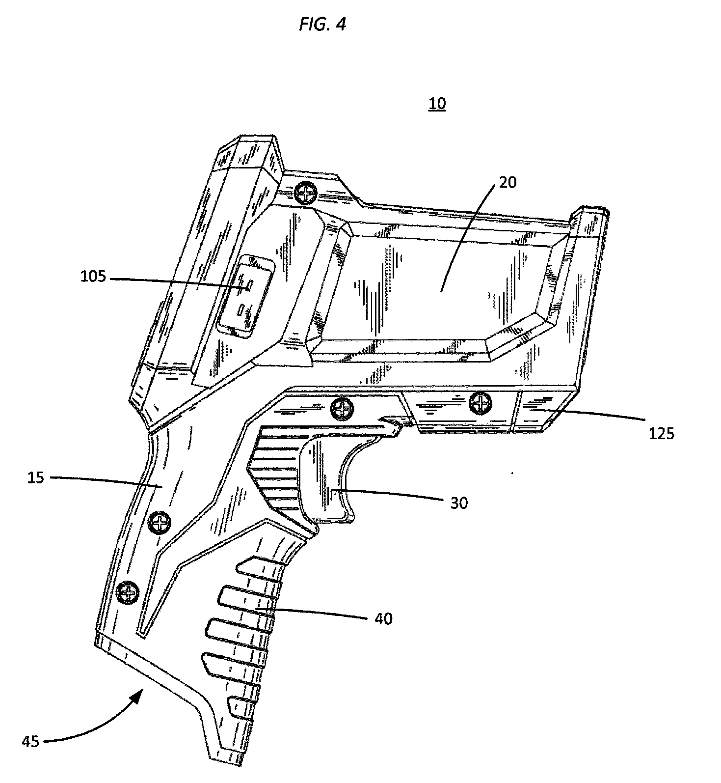 patent us20090257469 - infrared thermometer