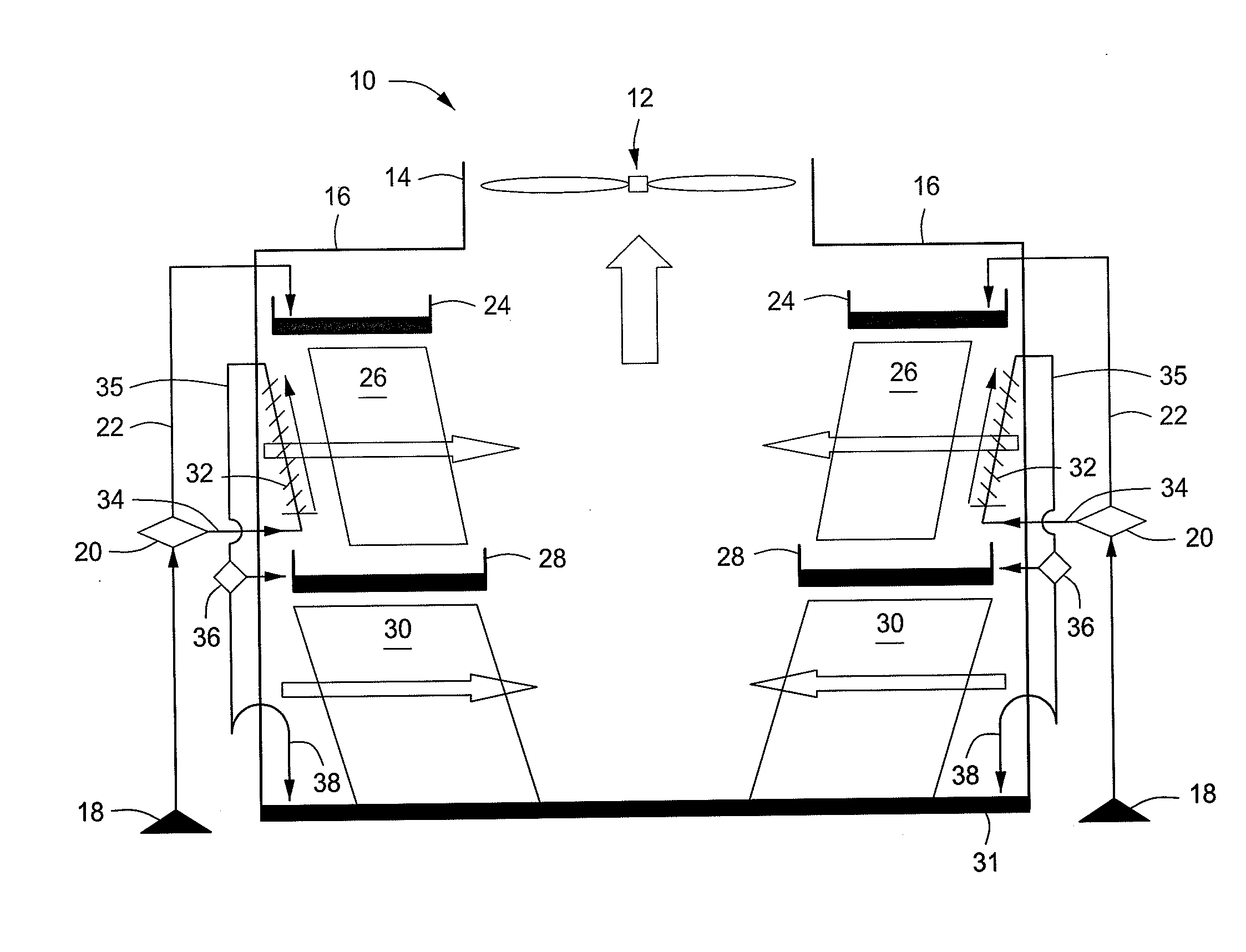 Patent US Wet dry cooling tower and method Google