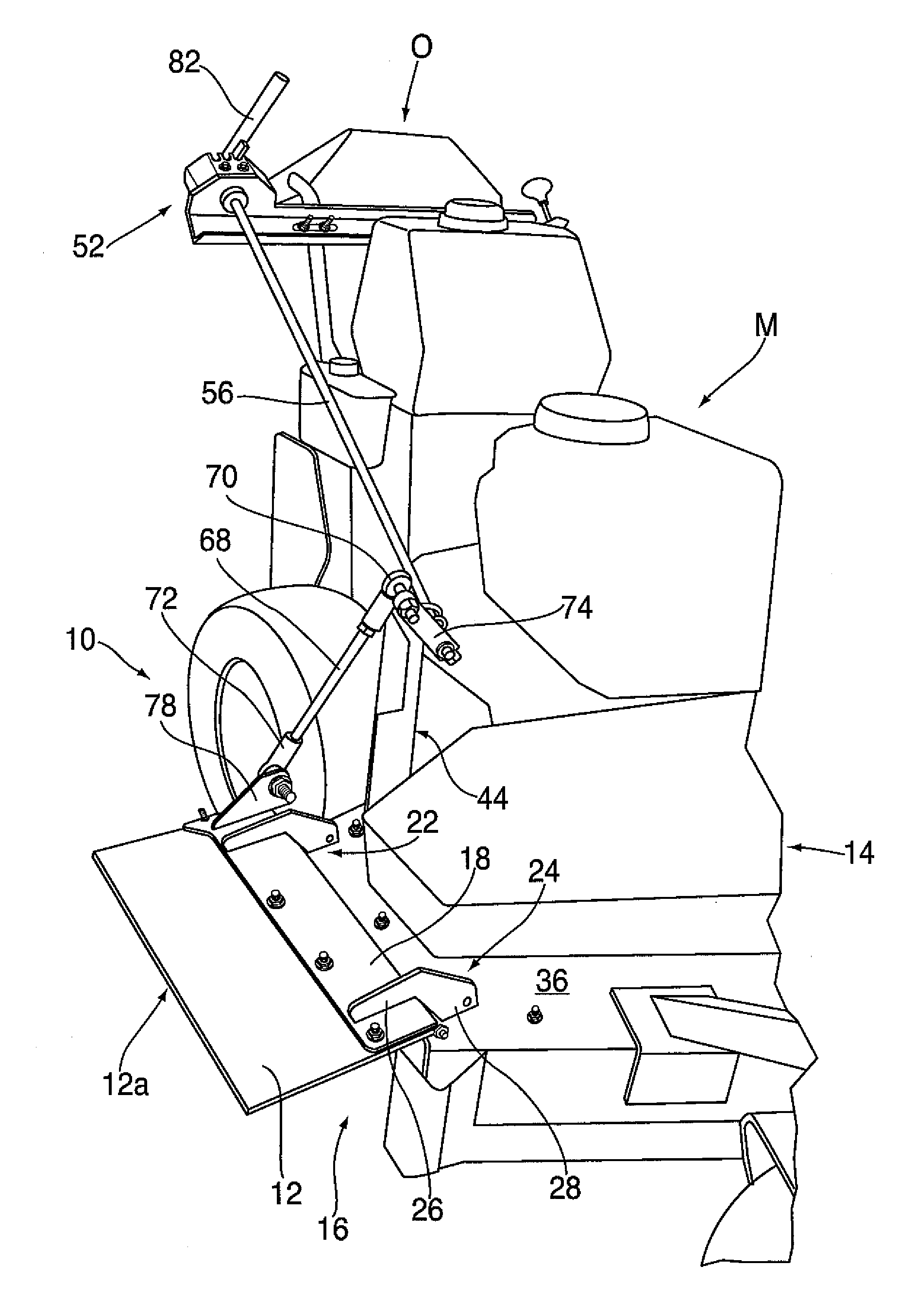 Patent Us20090301050 Lawn Mower Attachment And Method Google Atlas Jack Plate Wiring Diagram Drawing